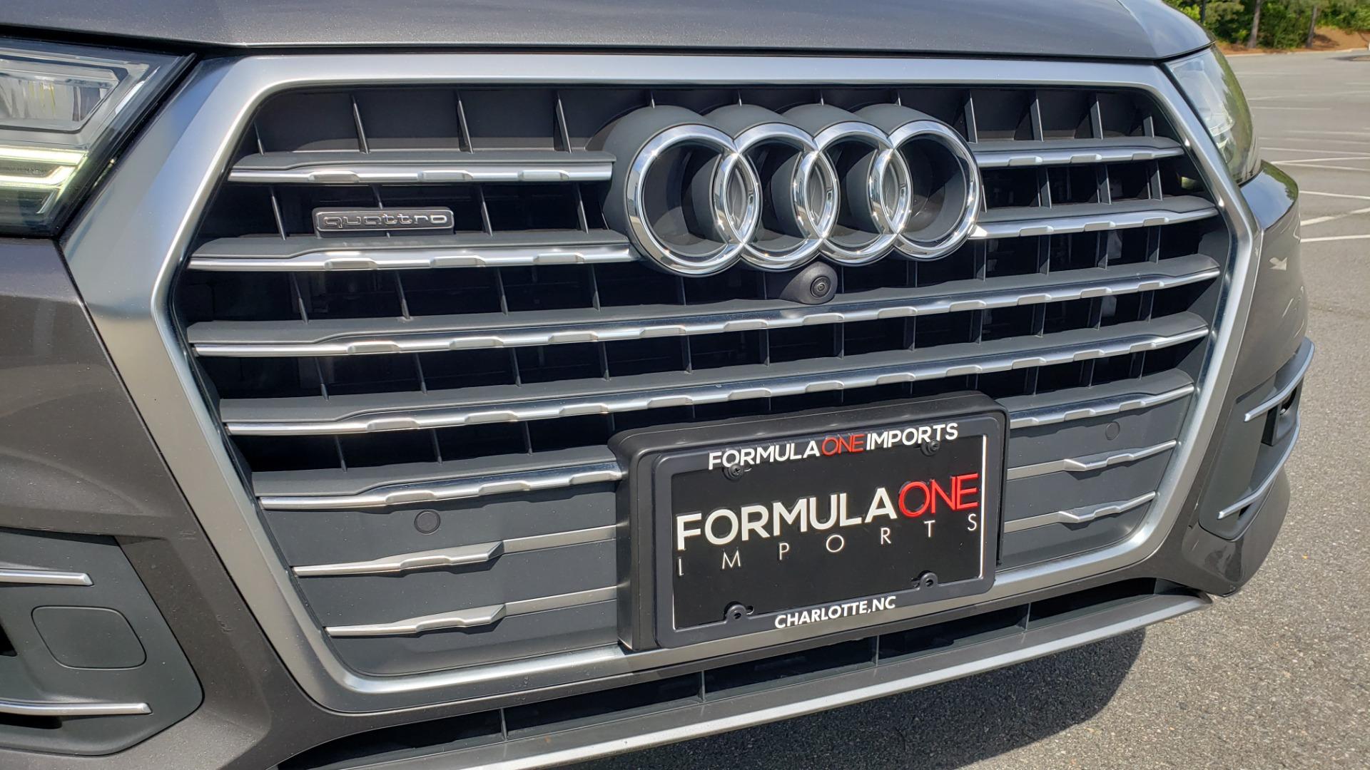 Used 2018 Audi Q7 PRESTIGE TIPTRONIC / NAV / SUNROOF / ADAPTIVE PKG / DRVR ASST / CLD WTHR /  for sale $49,995 at Formula Imports in Charlotte NC 28227 20