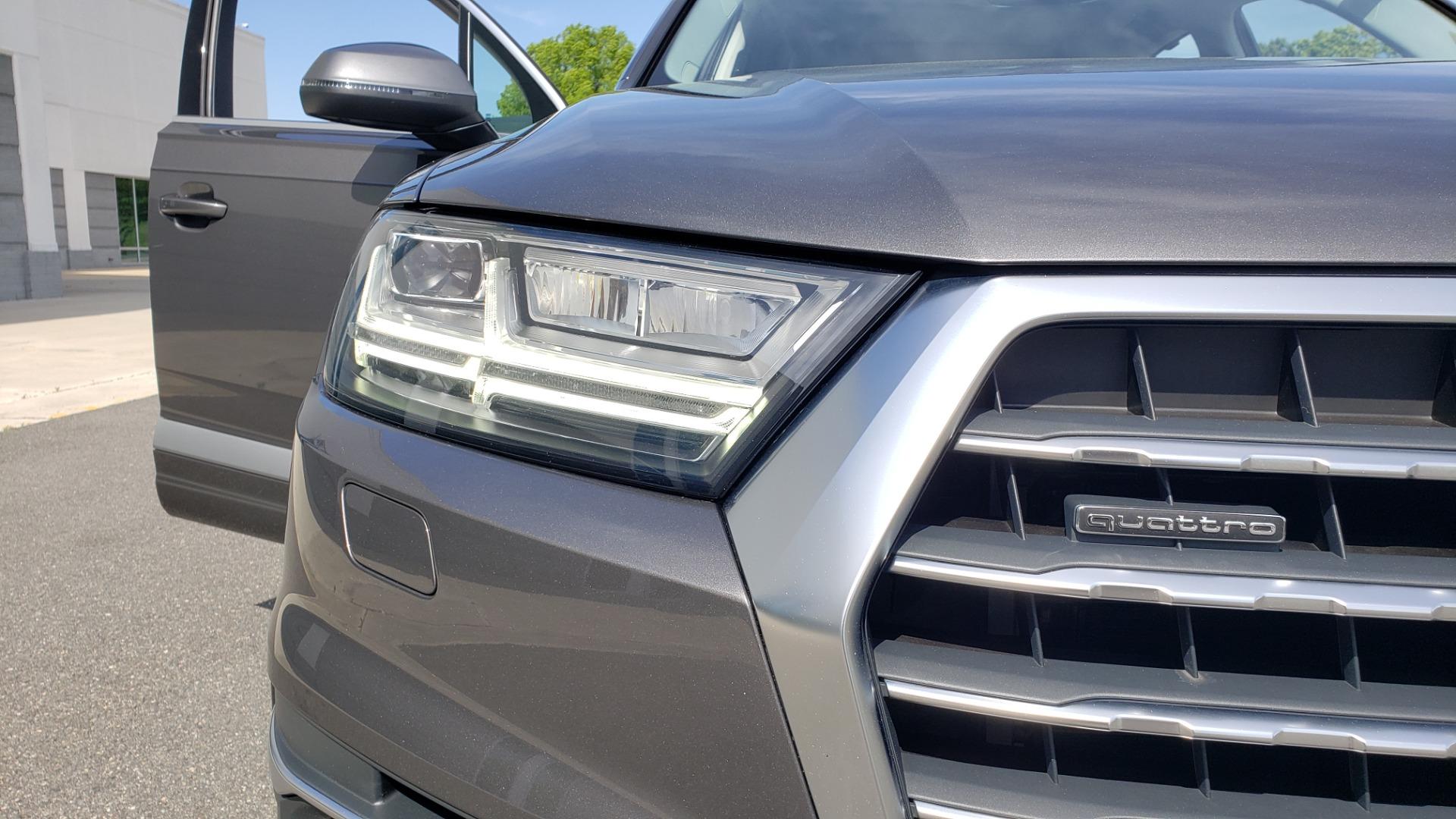 Used 2018 Audi Q7 PRESTIGE TIPTRONIC / NAV / SUNROOF / ADAPTIVE PKG / DRVR ASST / CLD WTHR /  for sale $49,995 at Formula Imports in Charlotte NC 28227 21