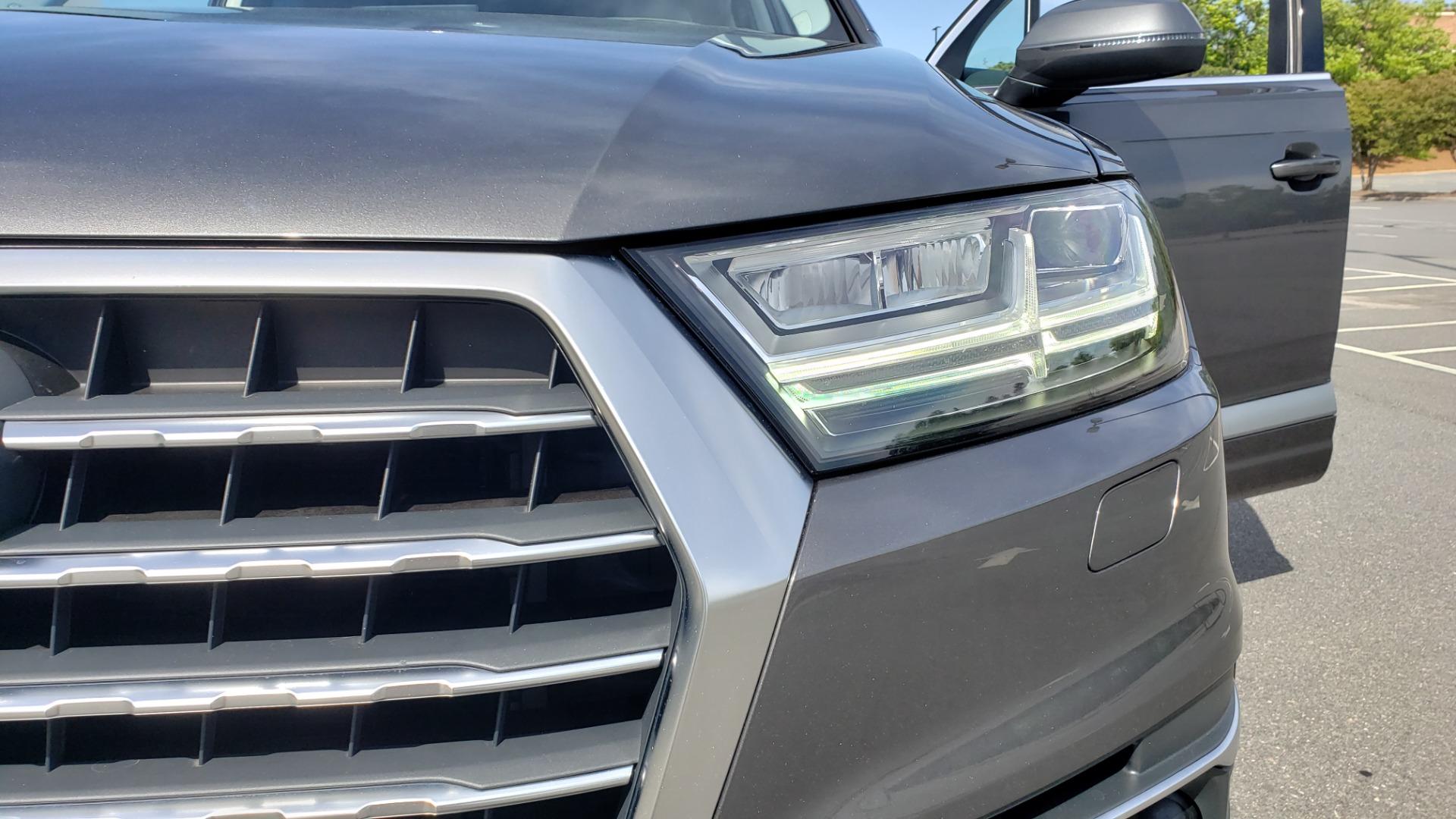 Used 2018 Audi Q7 PRESTIGE TIPTRONIC / NAV / SUNROOF / ADAPTIVE PKG / DRVR ASST / CLD WTHR /  for sale $49,995 at Formula Imports in Charlotte NC 28227 22