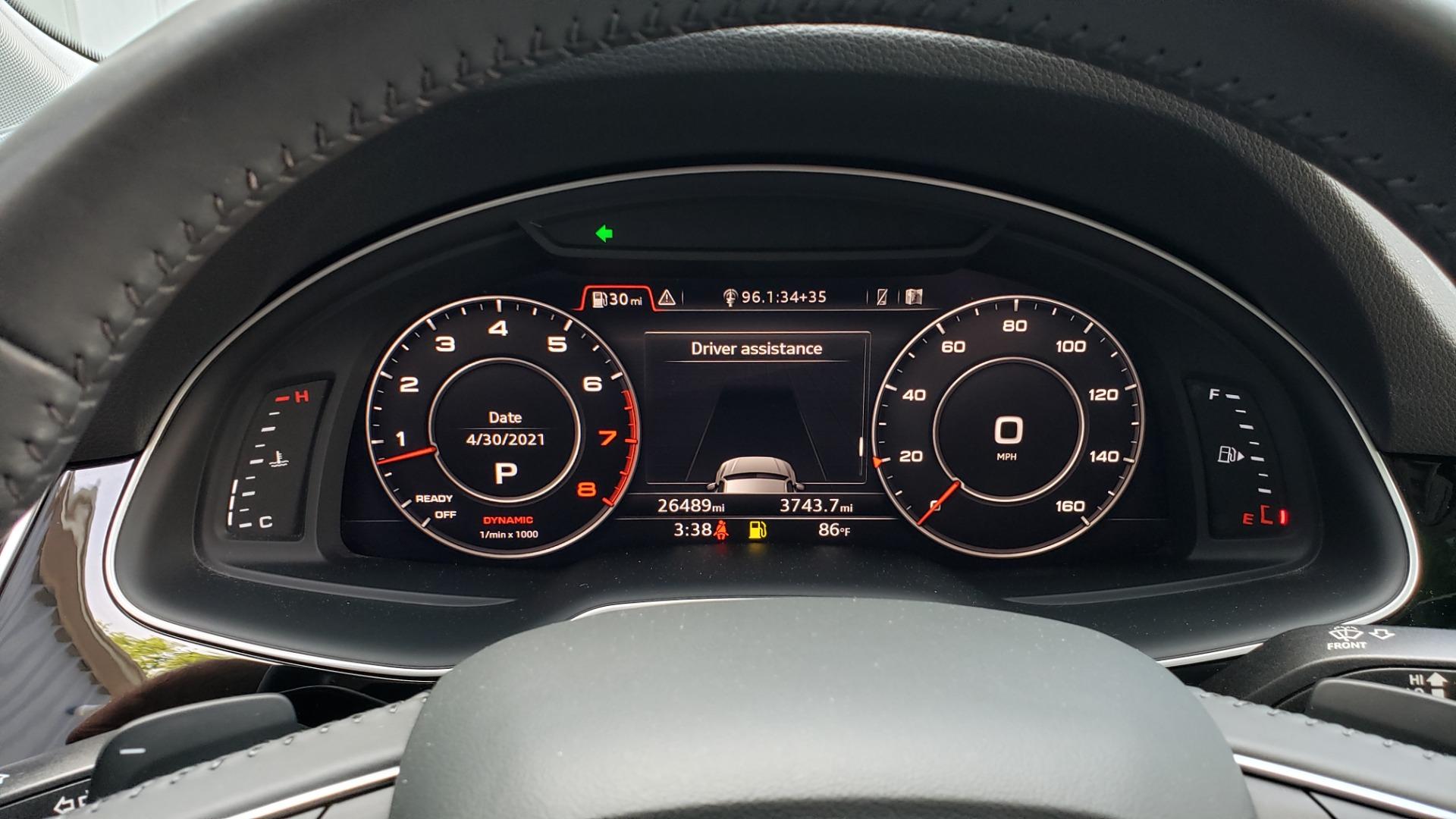 Used 2018 Audi Q7 PRESTIGE TIPTRONIC / NAV / SUNROOF / ADAPTIVE PKG / DRVR ASST / CLD WTHR /  for sale $49,995 at Formula Imports in Charlotte NC 28227 43