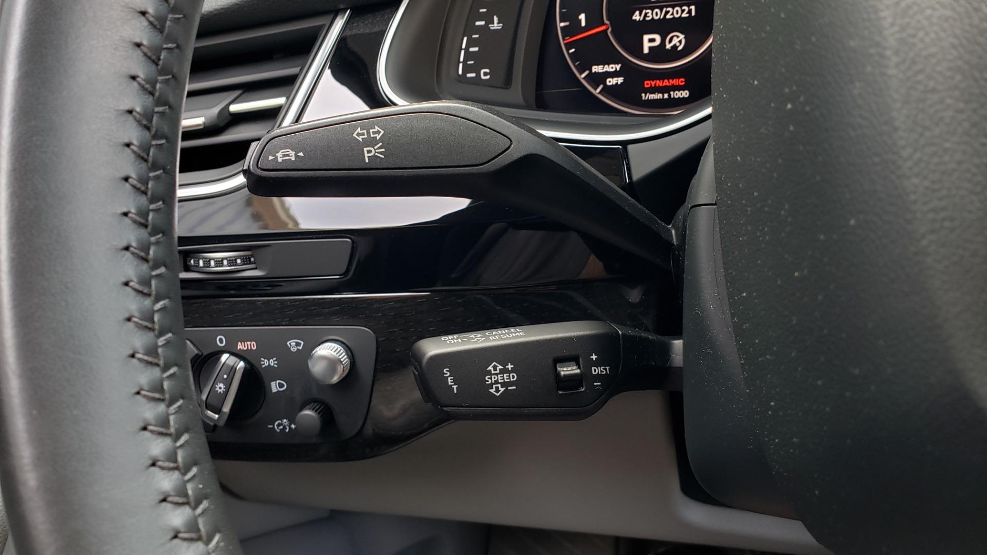 Used 2018 Audi Q7 PRESTIGE TIPTRONIC / NAV / SUNROOF / ADAPTIVE PKG / DRVR ASST / CLD WTHR /  for sale $49,995 at Formula Imports in Charlotte NC 28227 44