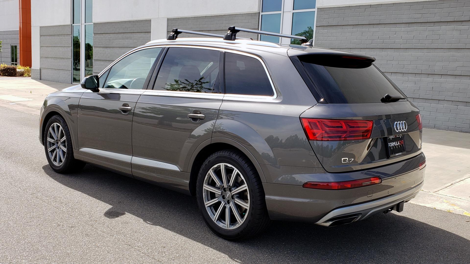 Used 2018 Audi Q7 PRESTIGE TIPTRONIC / NAV / SUNROOF / ADAPTIVE PKG / DRVR ASST / CLD WTHR /  for sale $49,995 at Formula Imports in Charlotte NC 28227 5