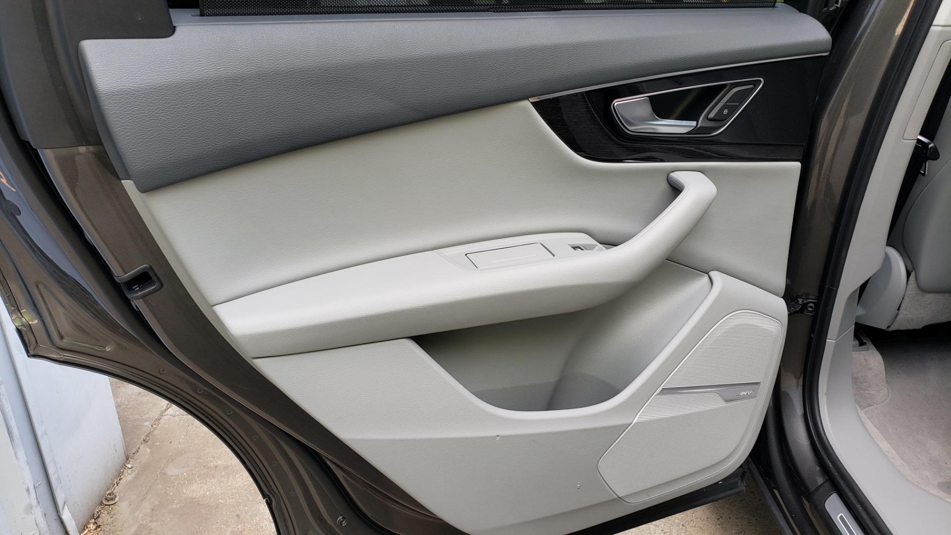 Used 2018 Audi Q7 PRESTIGE TIPTRONIC / NAV / SUNROOF / ADAPTIVE PKG / DRVR ASST / CLD WTHR /  for sale $49,995 at Formula Imports in Charlotte NC 28227 57