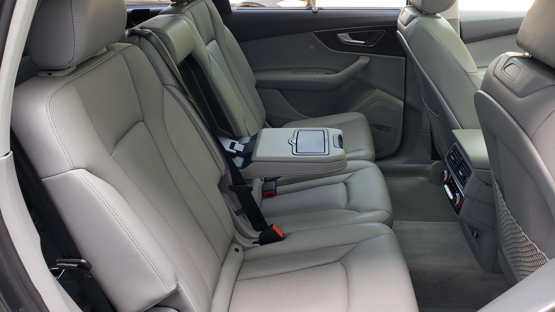 Used 2018 Audi Q7 PRESTIGE TIPTRONIC / NAV / SUNROOF / ADAPTIVE PKG / DRVR ASST / CLD WTHR /  for sale $49,995 at Formula Imports in Charlotte NC 28227 78