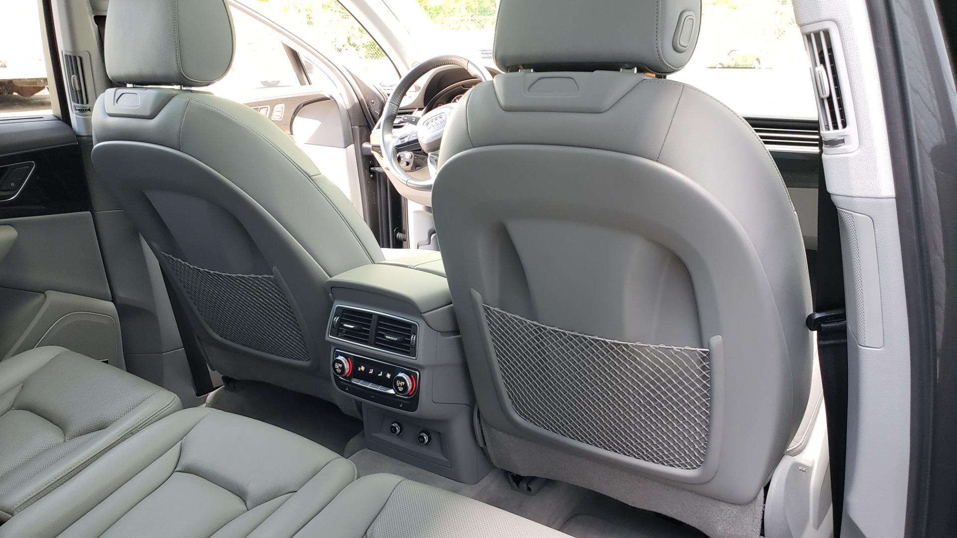Used 2018 Audi Q7 PRESTIGE TIPTRONIC / NAV / SUNROOF / ADAPTIVE PKG / DRVR ASST / CLD WTHR /  for sale $49,995 at Formula Imports in Charlotte NC 28227 87