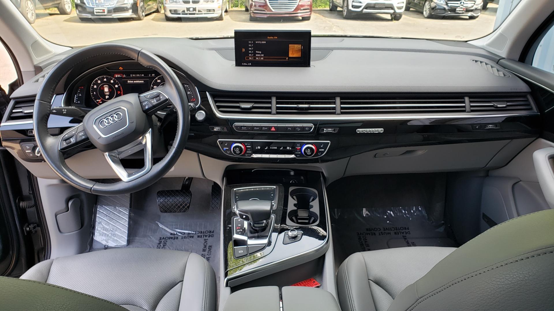 Used 2018 Audi Q7 PRESTIGE TIPTRONIC / NAV / SUNROOF / ADAPTIVE PKG / DRVR ASST / CLD WTHR /  for sale $49,995 at Formula Imports in Charlotte NC 28227 89