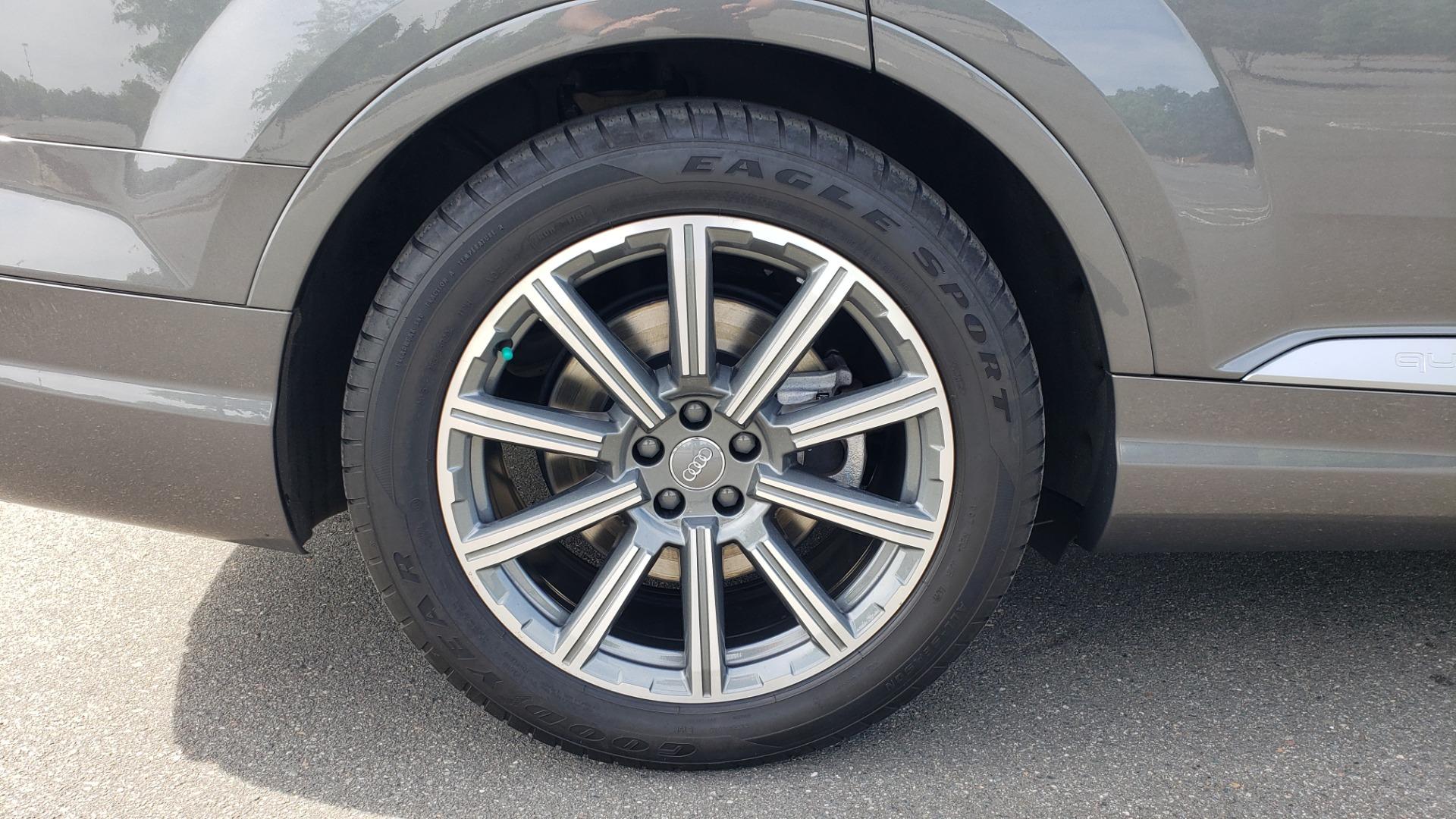 Used 2018 Audi Q7 PRESTIGE TIPTRONIC / NAV / SUNROOF / ADAPTIVE PKG / DRVR ASST / CLD WTHR /  for sale $49,995 at Formula Imports in Charlotte NC 28227 92
