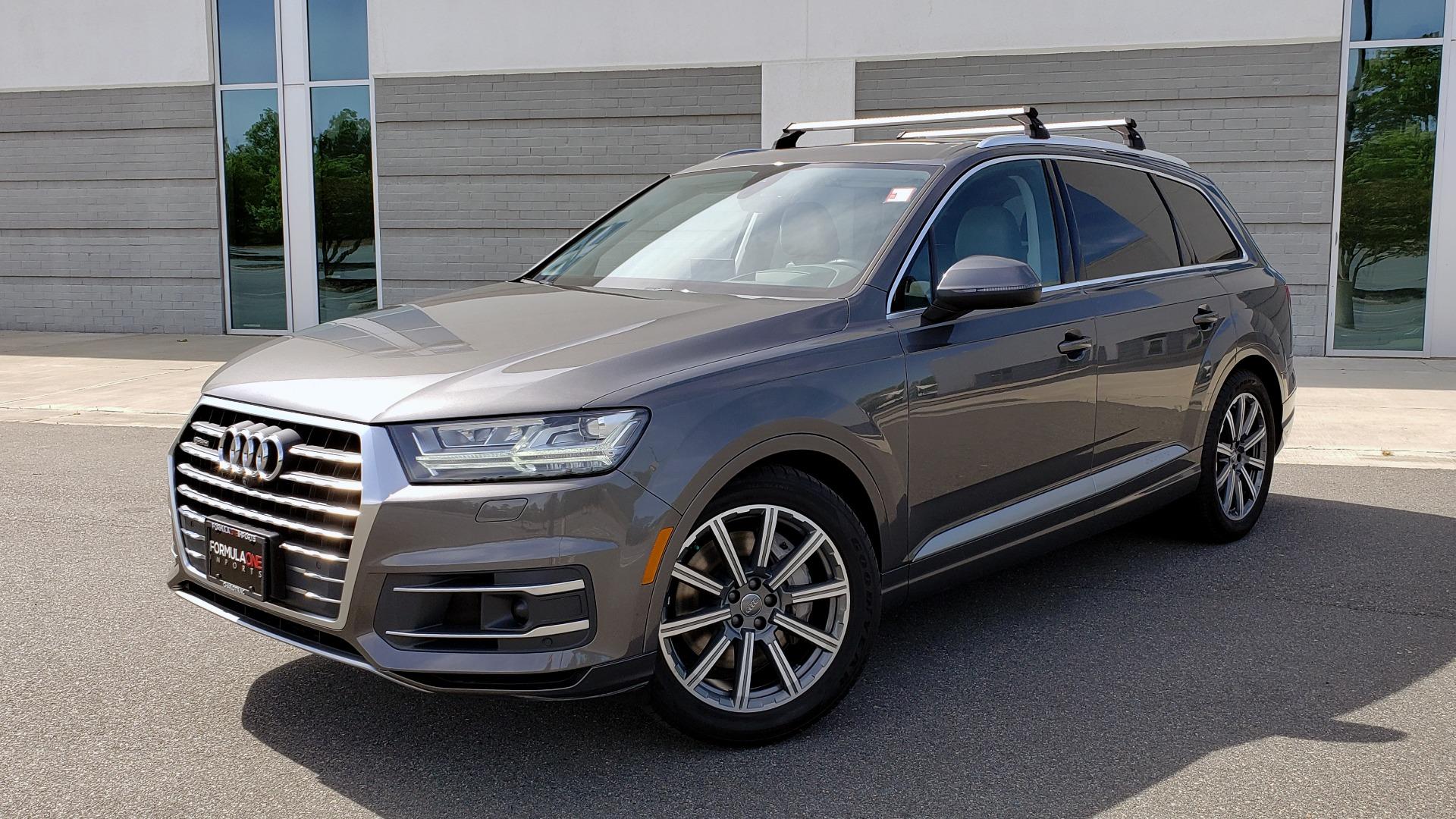 Used 2018 Audi Q7 PRESTIGE TIPTRONIC / NAV / SUNROOF / ADAPTIVE PKG / DRVR ASST / CLD WTHR /  for sale $49,995 at Formula Imports in Charlotte NC 28227 1
