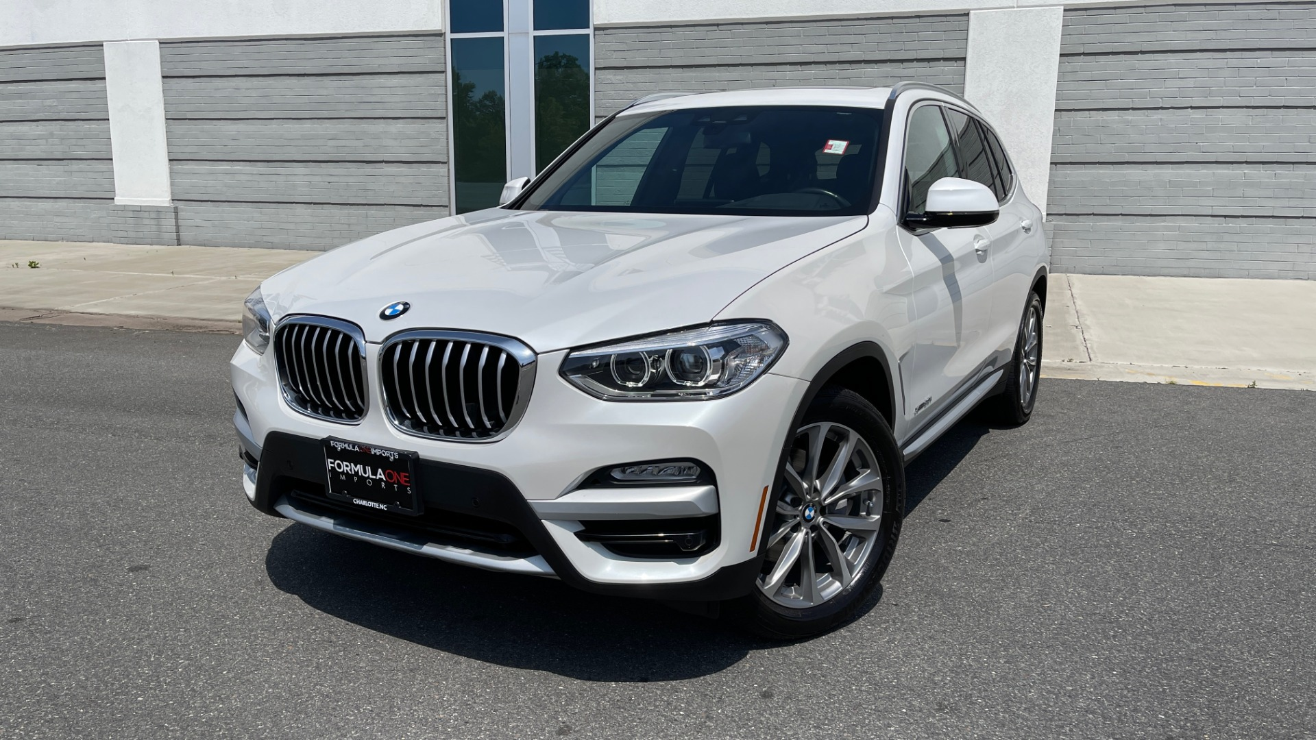 Used 2018 BMW X3 XDRIVE30I PREMIUM / NAV / DRVR ASST / CONV PKG / SUNROOF / REARVIEW for sale $32,695 at Formula Imports in Charlotte NC 28227 1
