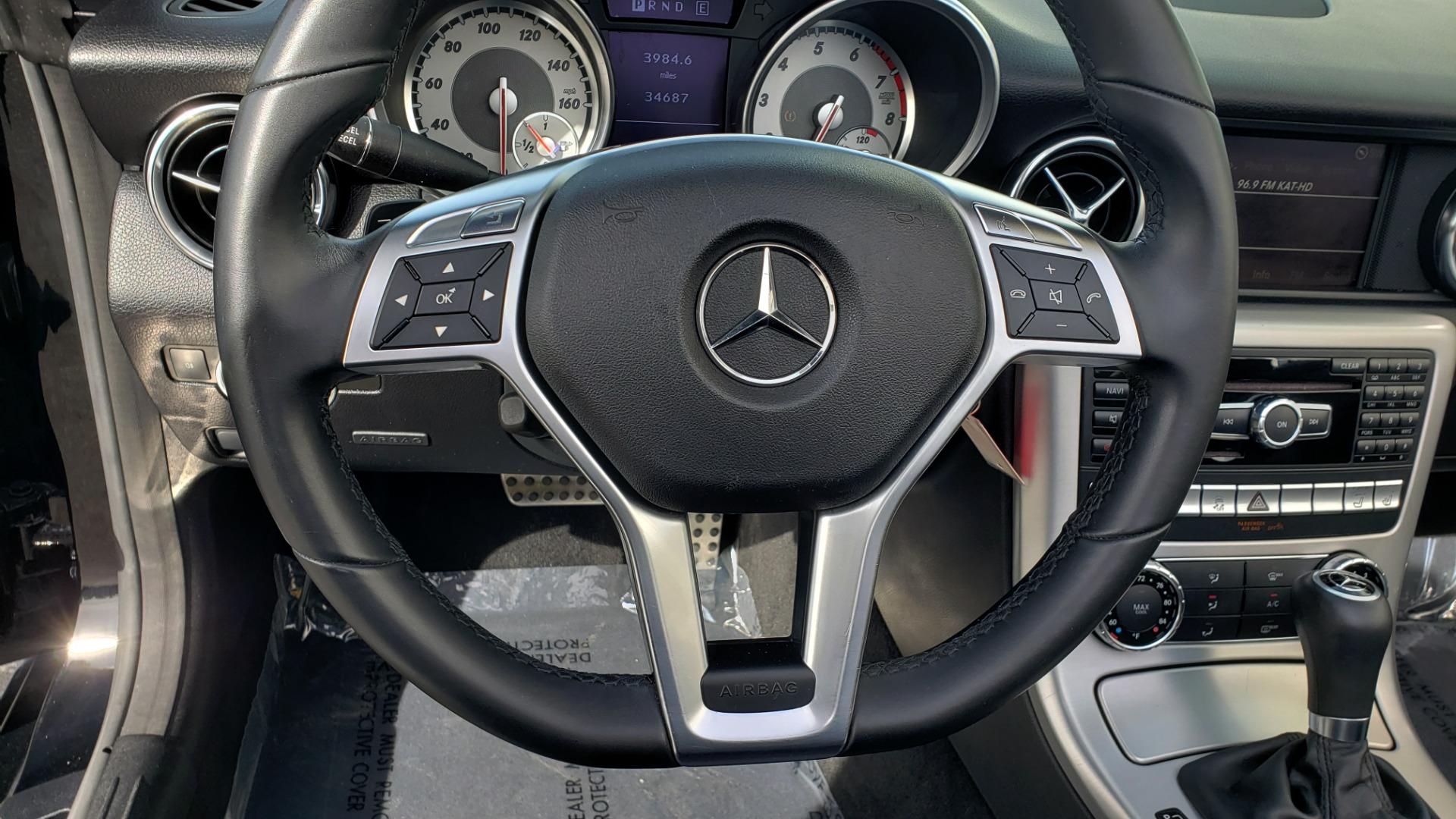 Used 2012 Mercedes-Benz SLK-CLASS SLK 250 ROADSTER / PREM 1 PKG / COMAND LAUNCH PKG / 7-SPD AUTO for sale $24,995 at Formula Imports in Charlotte NC 28227 18