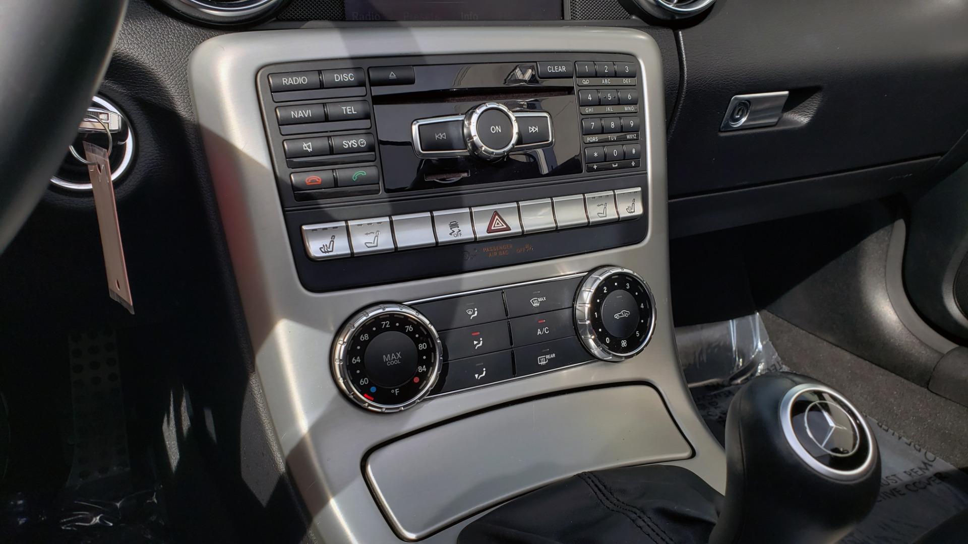 Used 2012 Mercedes-Benz SLK-CLASS SLK 250 ROADSTER / PREM 1 PKG / COMAND LAUNCH PKG / 7-SPD AUTO for sale $24,995 at Formula Imports in Charlotte NC 28227 27