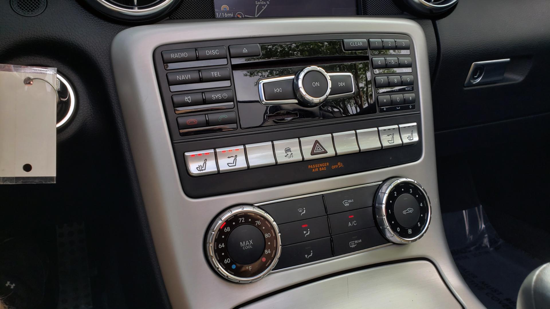 Used 2012 Mercedes-Benz SLK-CLASS SLK 250 ROADSTER / PREM 1 PKG / COMAND LAUNCH PKG / 7-SPD AUTO for sale $24,995 at Formula Imports in Charlotte NC 28227 28