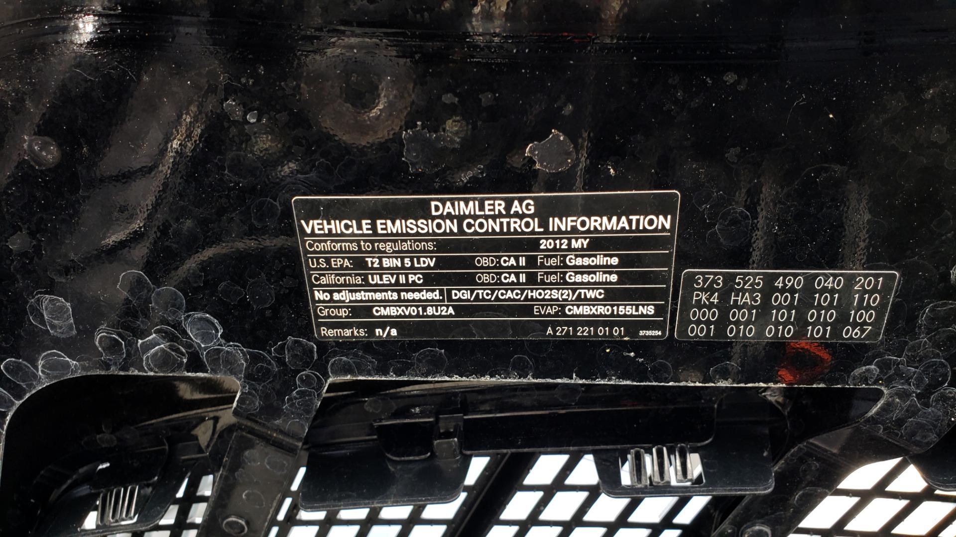 Used 2012 Mercedes-Benz SLK-CLASS SLK 250 ROADSTER / PREM 1 PKG / COMAND LAUNCH PKG / 7-SPD AUTO for sale $24,995 at Formula Imports in Charlotte NC 28227 35