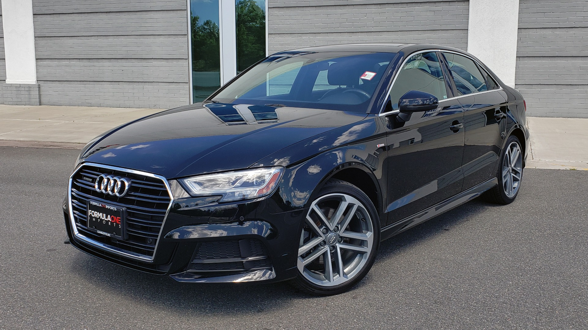 Used 2018 Audi A3 SEDAN PREMIUM PLUS / NAV / PANO-ROOF / B&O SND / LED PKG / REARVIEW for sale $25,995 at Formula Imports in Charlotte NC 28227 1