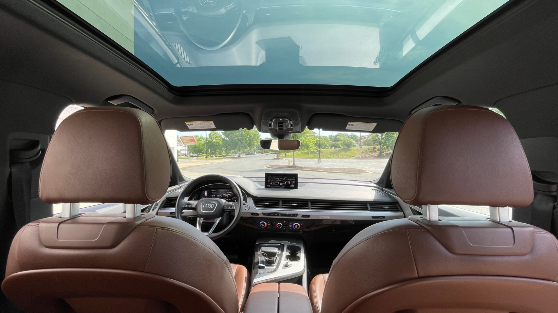 Used 2018 Audi Q7 PREMIUM PLUS / NAV / PANO-ROOF / BOSE / 3-ROW / REARVIEW for sale $43,461 at Formula Imports in Charlotte NC 28227 81