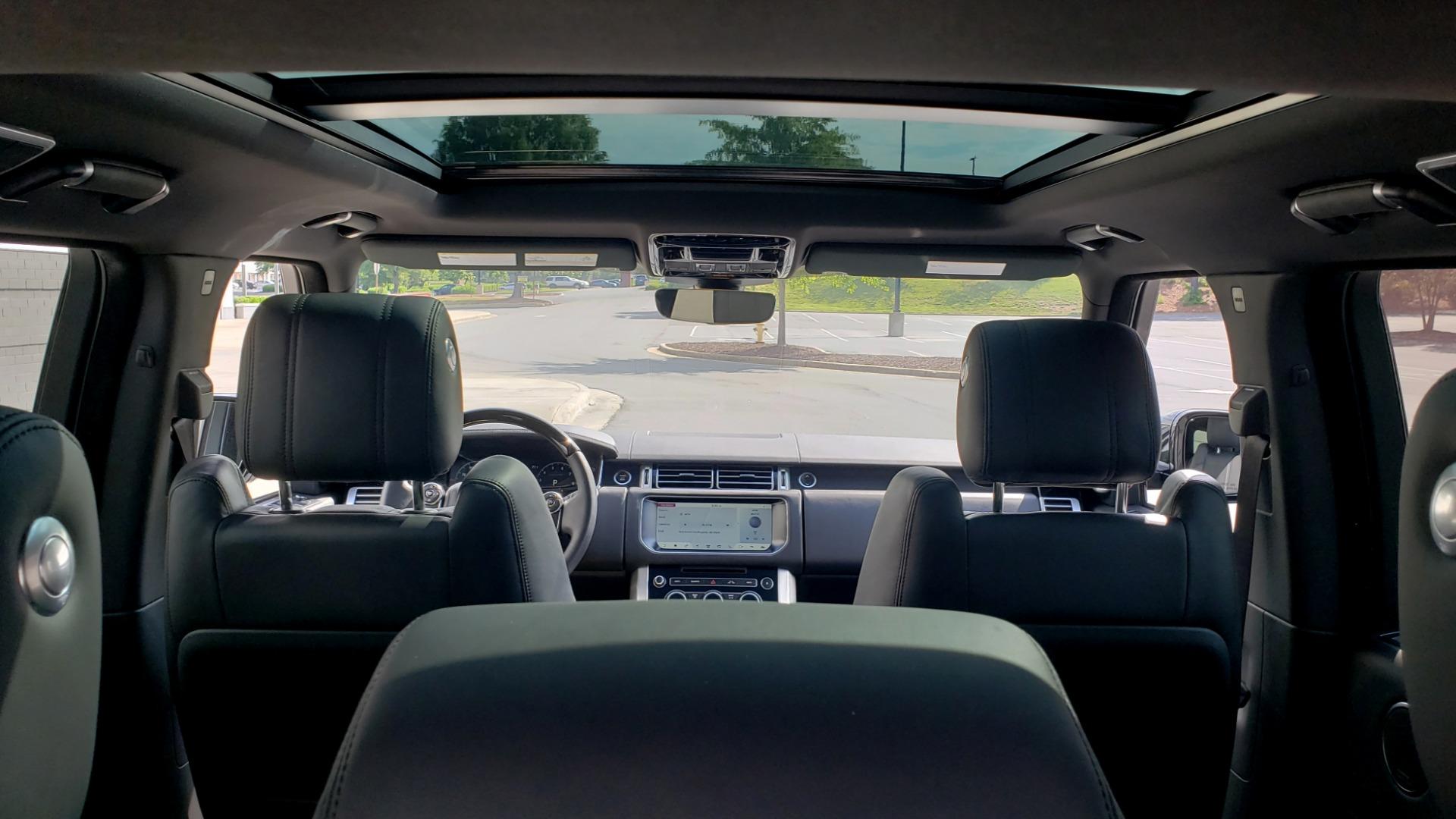 Used 2017 Land Rover RANGE ROVER SC V8 / VISION ASST / DRIVE PKG / MERIDIAN SOUND / PANO-ROOF / NAV / BSM for sale $75,995 at Formula Imports in Charlotte NC 28227 23