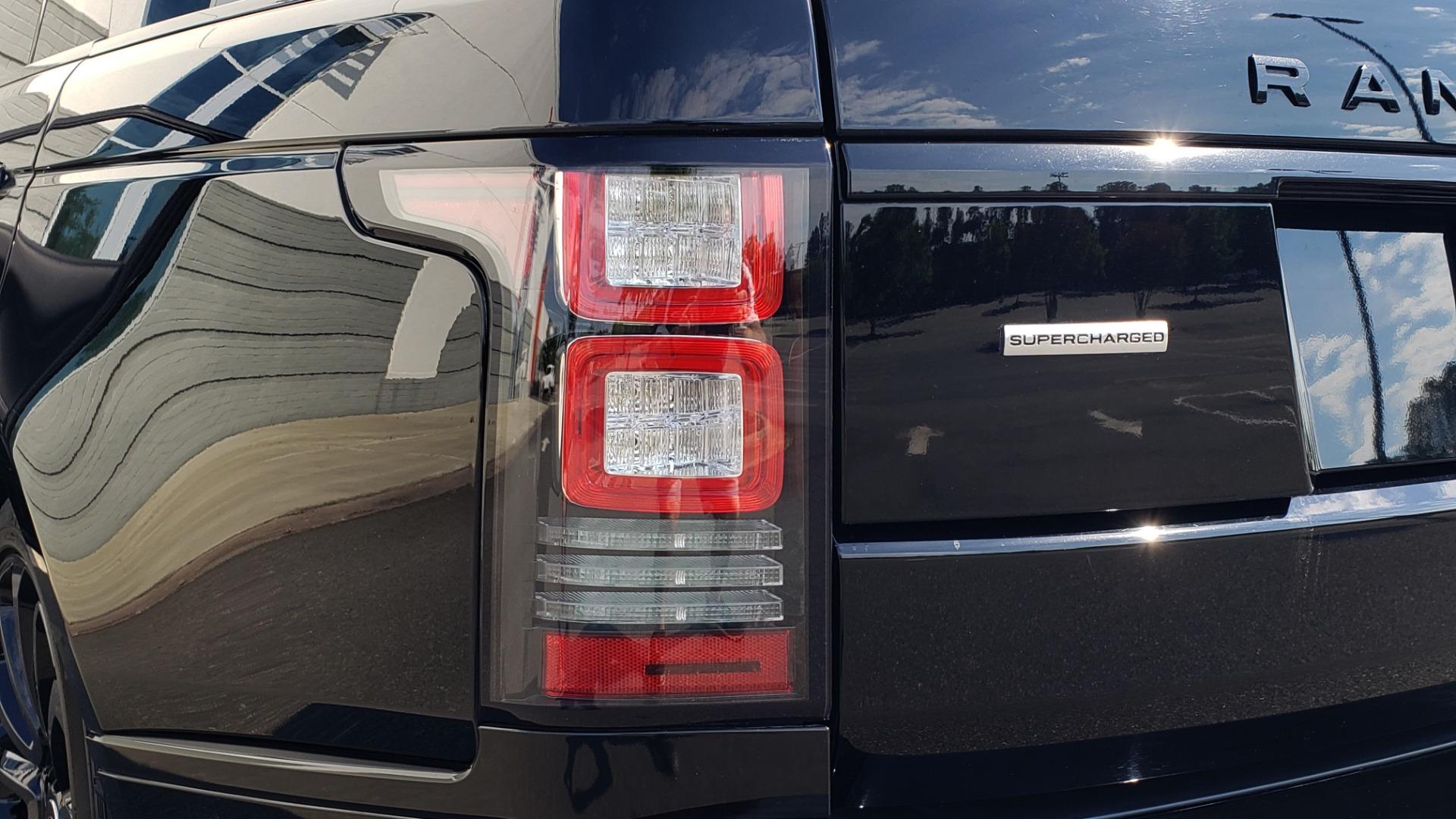 Used 2017 Land Rover RANGE ROVER SC V8 / VISION ASST / DRIVE PKG / MERIDIAN SOUND / PANO-ROOF / NAV / BSM for sale $75,995 at Formula Imports in Charlotte NC 28227 32