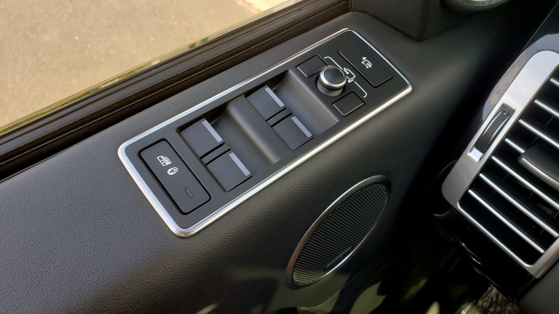 Used 2017 Land Rover RANGE ROVER SC V8 / VISION ASST / DRIVE PKG / MERIDIAN SOUND / PANO-ROOF / NAV / BSM for sale $75,995 at Formula Imports in Charlotte NC 28227 51