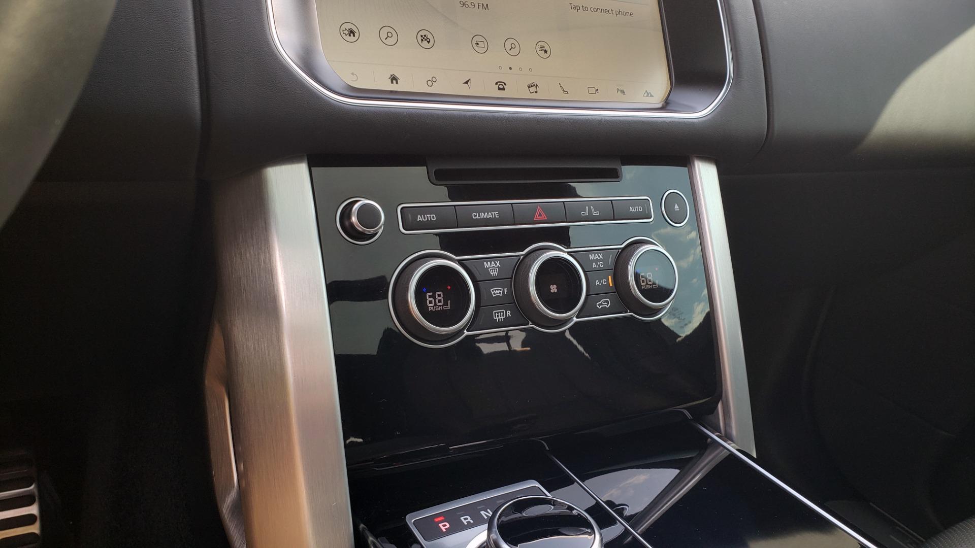 Used 2017 Land Rover RANGE ROVER SC V8 / VISION ASST / DRIVE PKG / MERIDIAN SOUND / PANO-ROOF / NAV / BSM for sale $75,995 at Formula Imports in Charlotte NC 28227 57