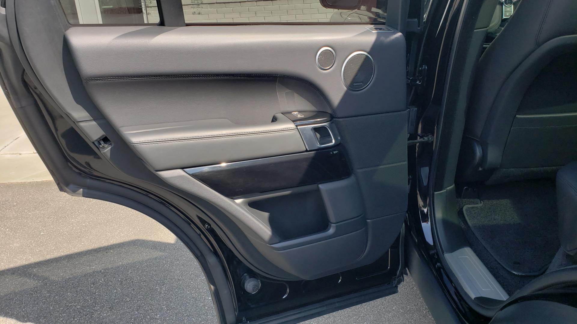 Used 2017 Land Rover RANGE ROVER SC V8 / VISION ASST / DRIVE PKG / MERIDIAN SOUND / PANO-ROOF / NAV / BSM for sale $75,995 at Formula Imports in Charlotte NC 28227 66