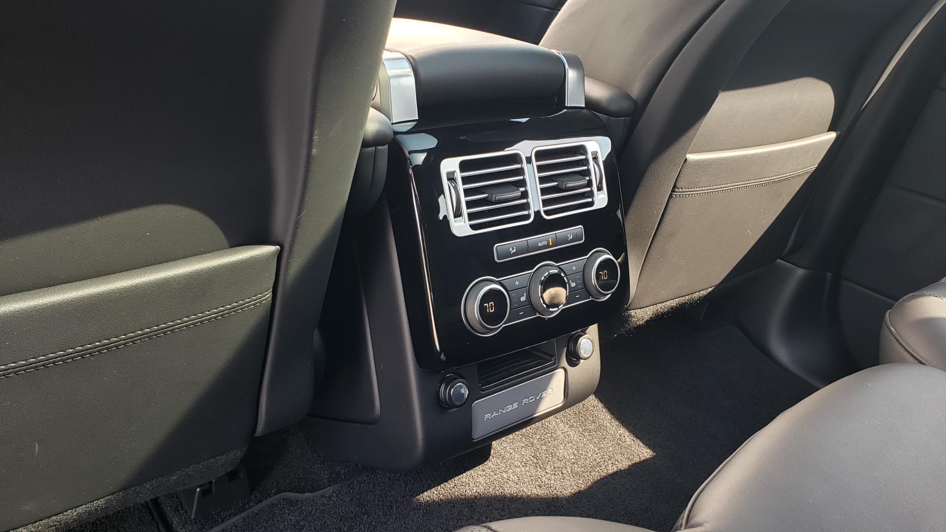 Used 2017 Land Rover RANGE ROVER SC V8 / VISION ASST / DRIVE PKG / MERIDIAN SOUND / PANO-ROOF / NAV / BSM for sale $75,995 at Formula Imports in Charlotte NC 28227 70
