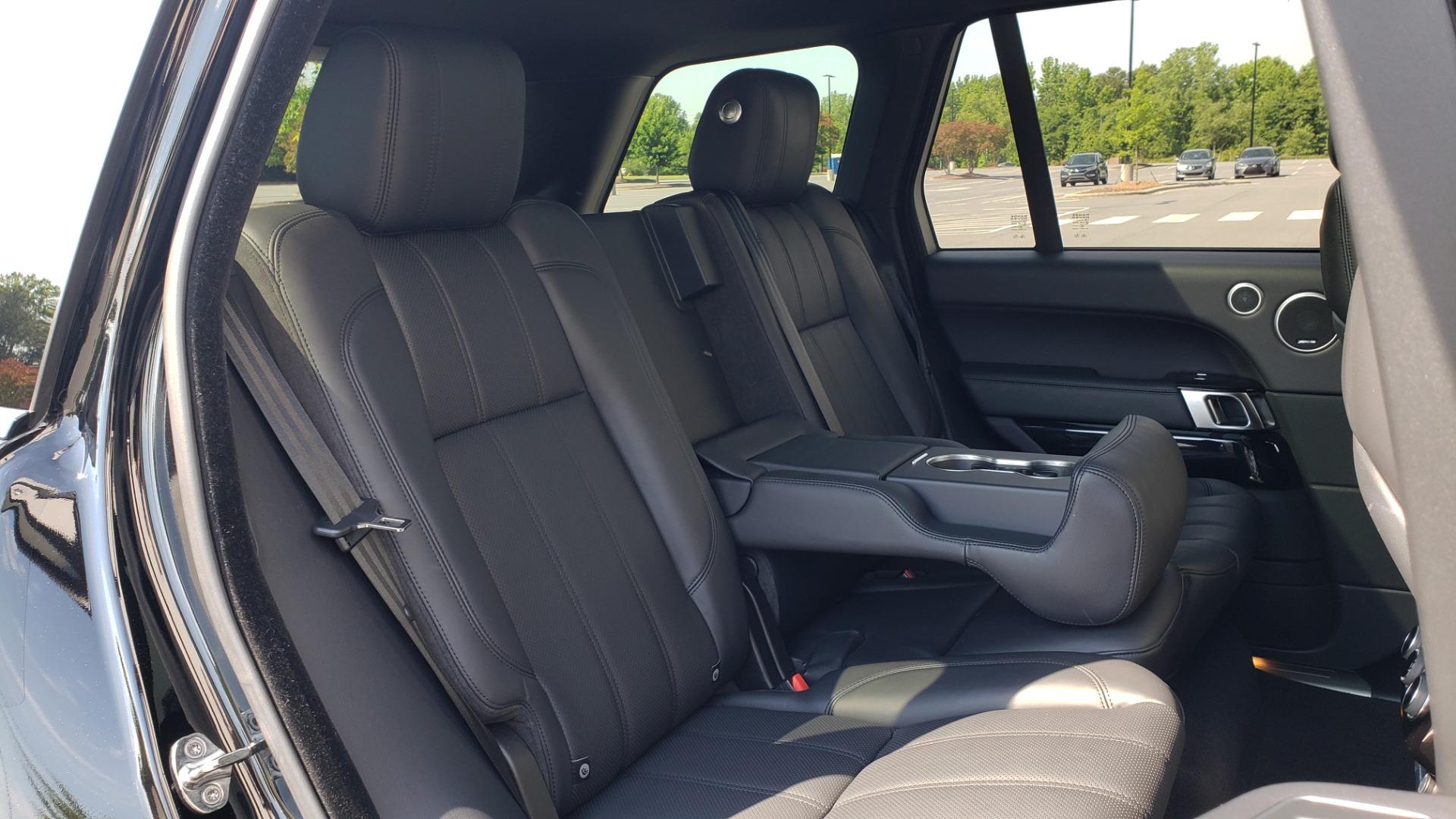 Used 2017 Land Rover RANGE ROVER SC V8 / VISION ASST / DRIVE PKG / MERIDIAN SOUND / PANO-ROOF / NAV / BSM for sale $75,995 at Formula Imports in Charlotte NC 28227 79