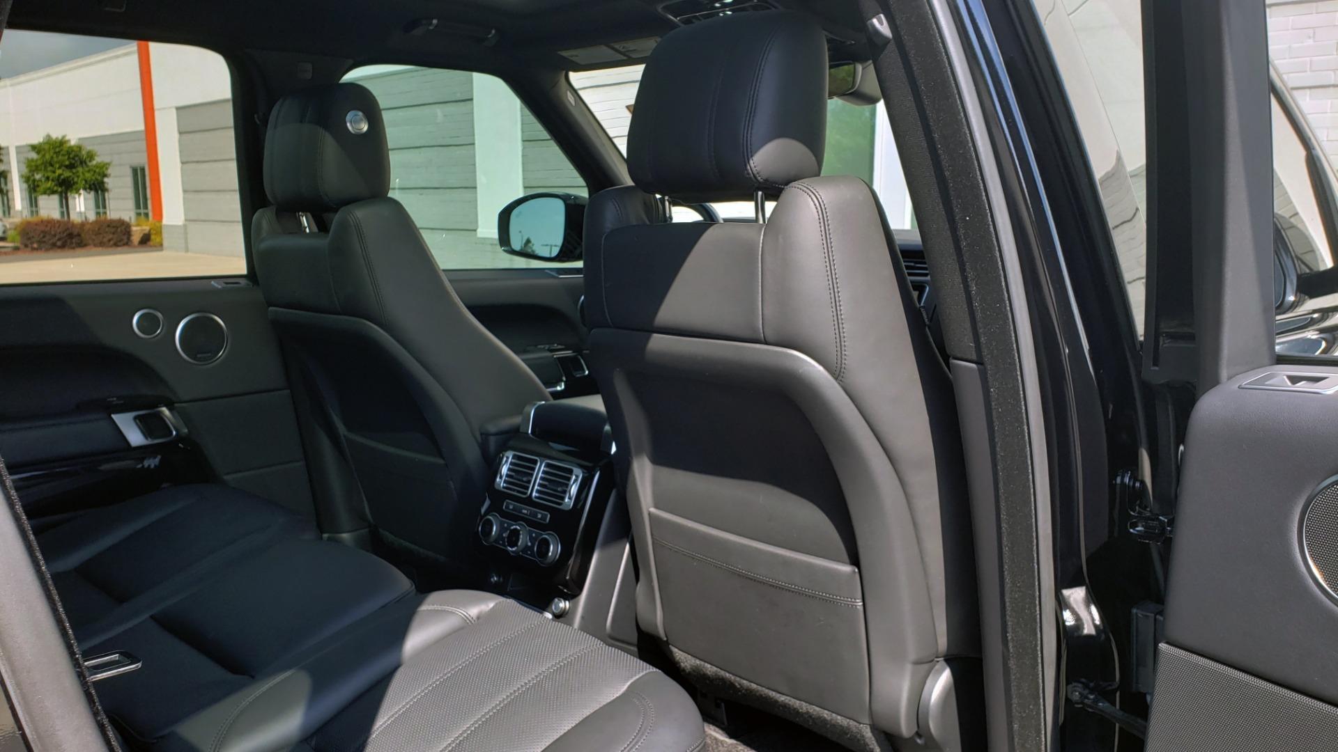Used 2017 Land Rover RANGE ROVER SC V8 / VISION ASST / DRIVE PKG / MERIDIAN SOUND / PANO-ROOF / NAV / BSM for sale $75,995 at Formula Imports in Charlotte NC 28227 82