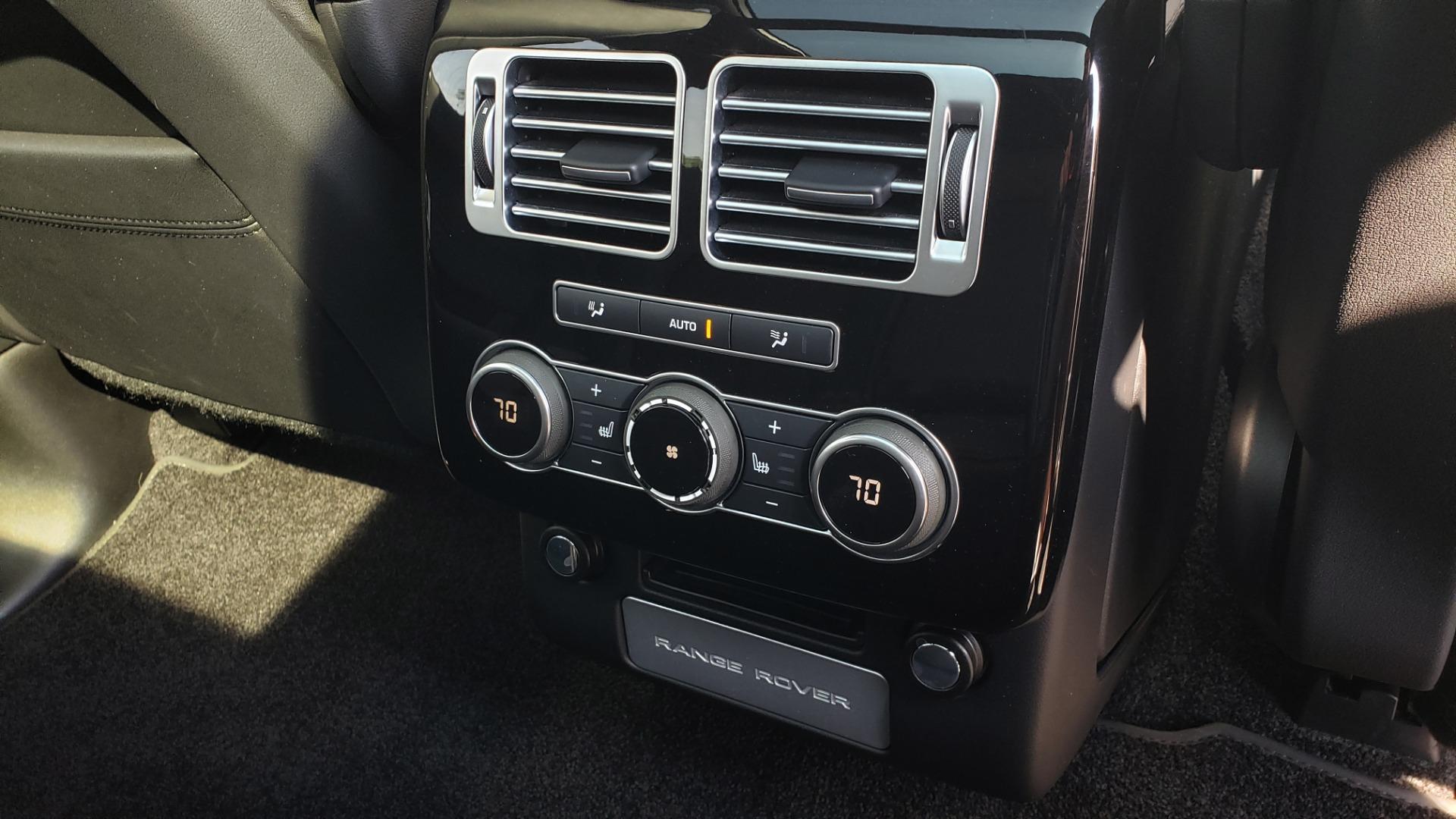 Used 2017 Land Rover RANGE ROVER SC V8 / VISION ASST / DRIVE PKG / MERIDIAN SOUND / PANO-ROOF / NAV / BSM for sale $75,995 at Formula Imports in Charlotte NC 28227 83