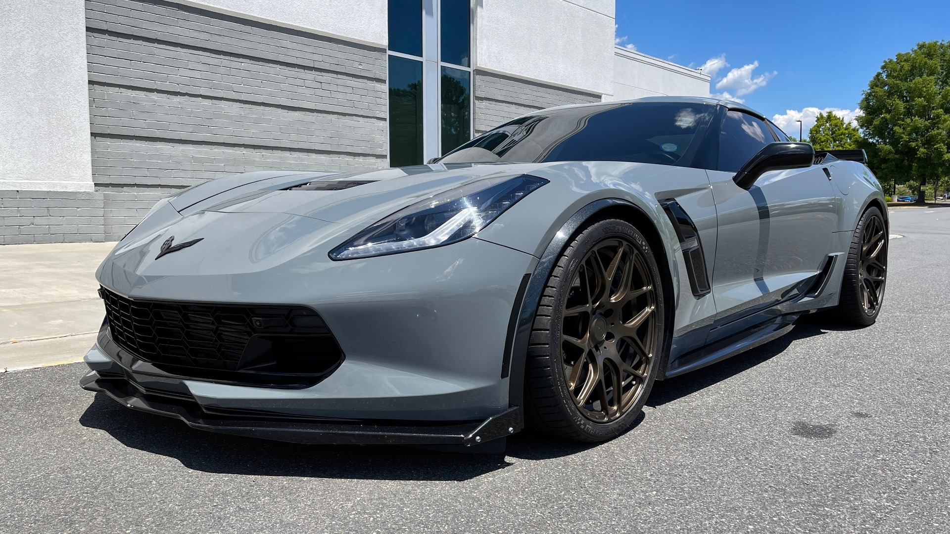 Used 2019 Chevrolet CORVETTE GRAND SPORT 3LT / SUPERCHARGED 6.2L V8 / NAV / REARVIEW for sale Sold at Formula Imports in Charlotte NC 28227 2