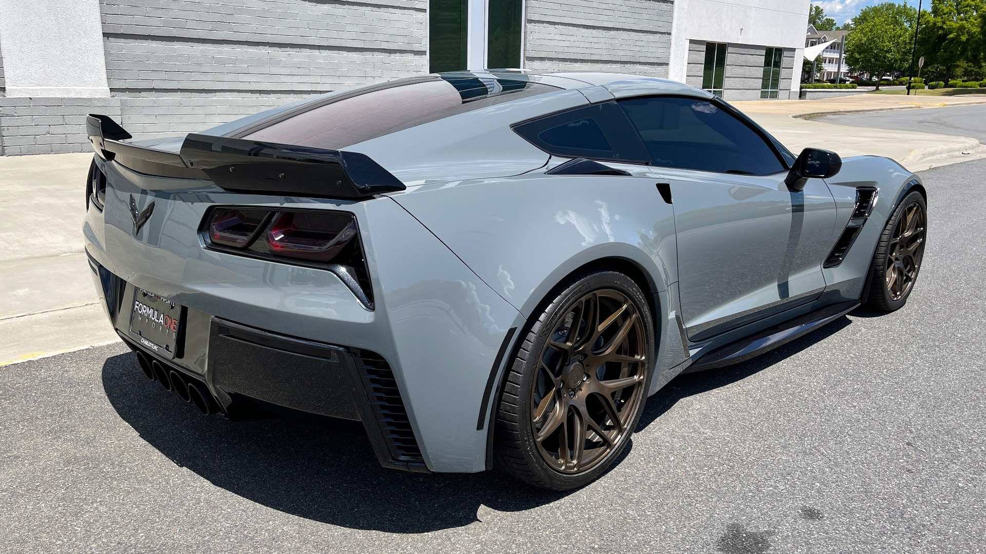 Used 2019 Chevrolet CORVETTE GRAND SPORT 3LT / SUPERCHARGED 6.2L V8 / NAV / REARVIEW for sale Sold at Formula Imports in Charlotte NC 28227 3