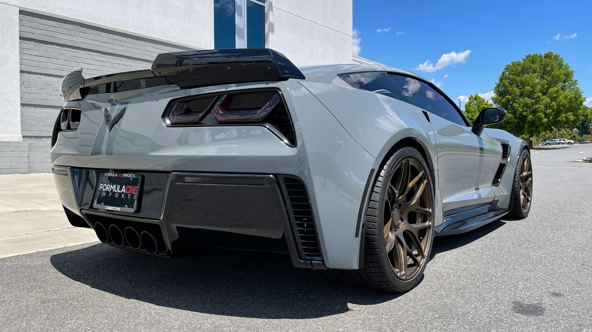 Used 2019 Chevrolet CORVETTE GRAND SPORT 3LT / SUPERCHARGED 6.2L V8 / NAV / REARVIEW for sale Sold at Formula Imports in Charlotte NC 28227 4