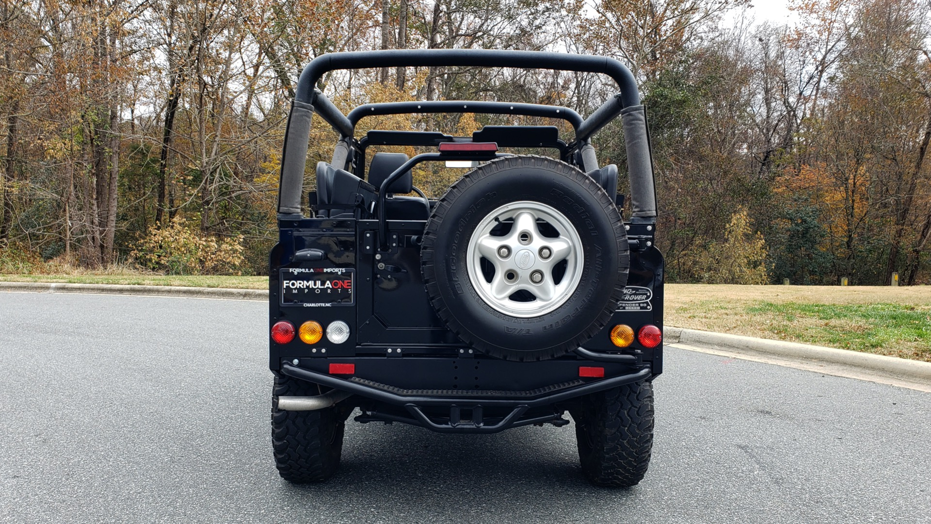 Used 1997 Land Rover DEFENDER 90 NAS SOFT-TOP 4x4 / LOW MILES / SUPER CLEAN for sale Sold at Formula Imports in Charlotte NC 28227 21