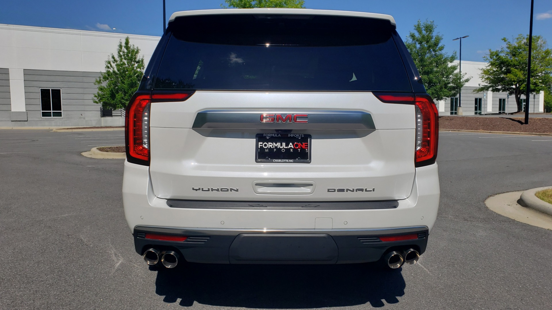 Used 2021 GMC YUKON DENALI PREM / 4WD / NAV / TECH / TRAILER / SECURITY / SUNROOF for sale Sold at Formula Imports in Charlotte NC 28227 82