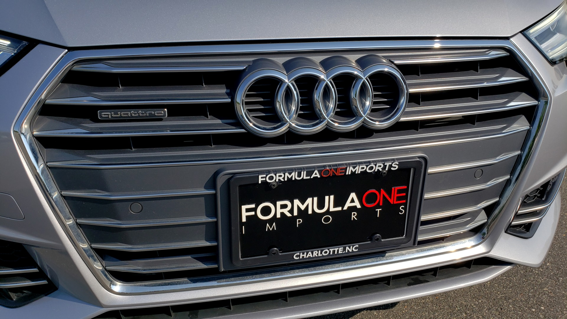 Used 2018 Audi A4 PREMIUM PLUS 2.0T / NAV / SUNROOF / B&O SND / CLD WTHR / REARVIEW for sale $29,395 at Formula Imports in Charlotte NC 28227 25