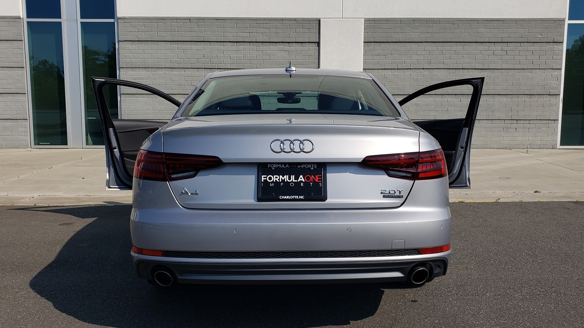 Used 2018 Audi A4 PREMIUM PLUS 2.0T / NAV / SUNROOF / B&O SND / CLD WTHR / REARVIEW for sale $29,395 at Formula Imports in Charlotte NC 28227 28