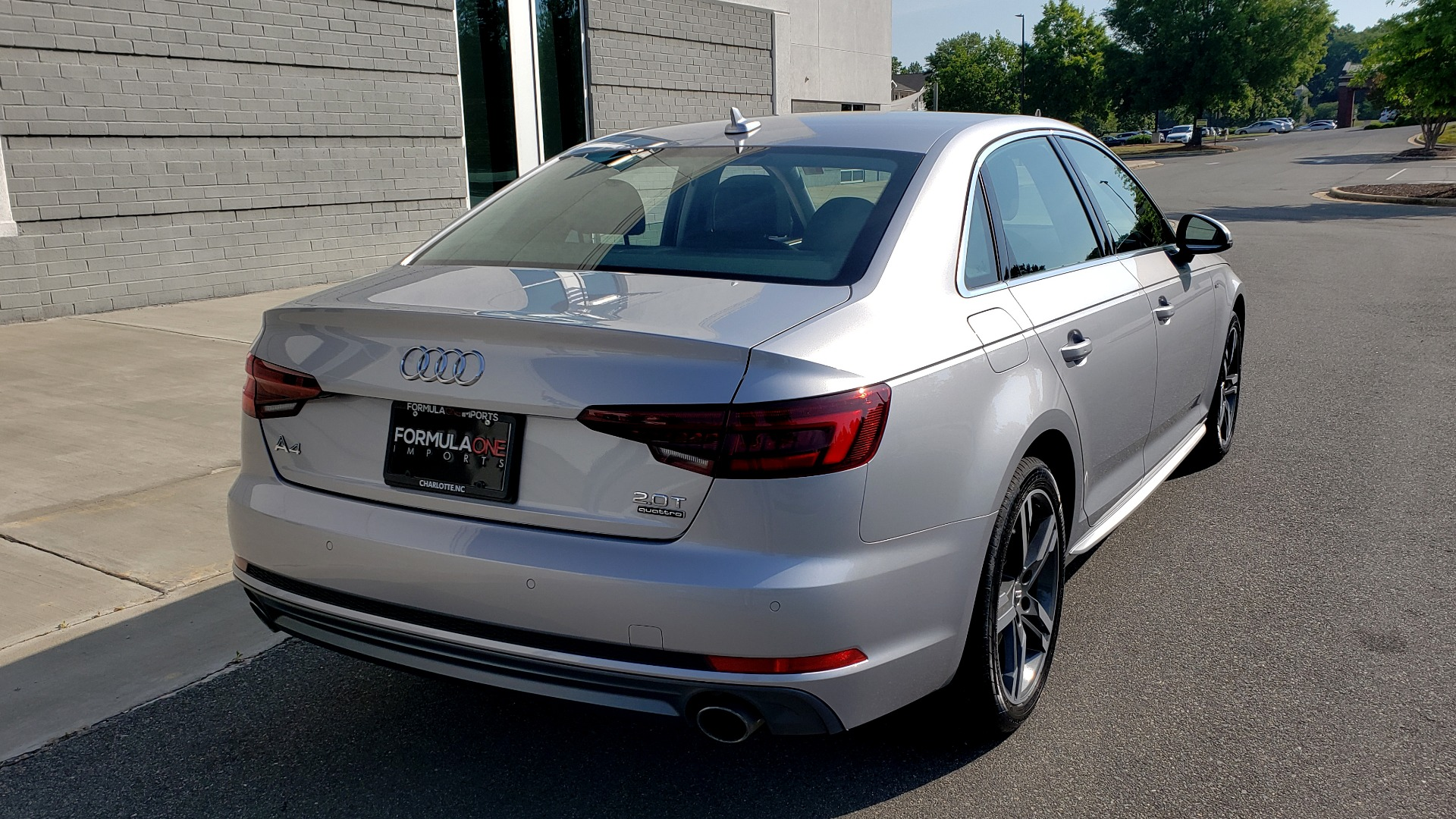 Used 2018 Audi A4 PREMIUM PLUS 2.0T / NAV / SUNROOF / B&O SND / CLD WTHR / REARVIEW for sale $29,395 at Formula Imports in Charlotte NC 28227 3