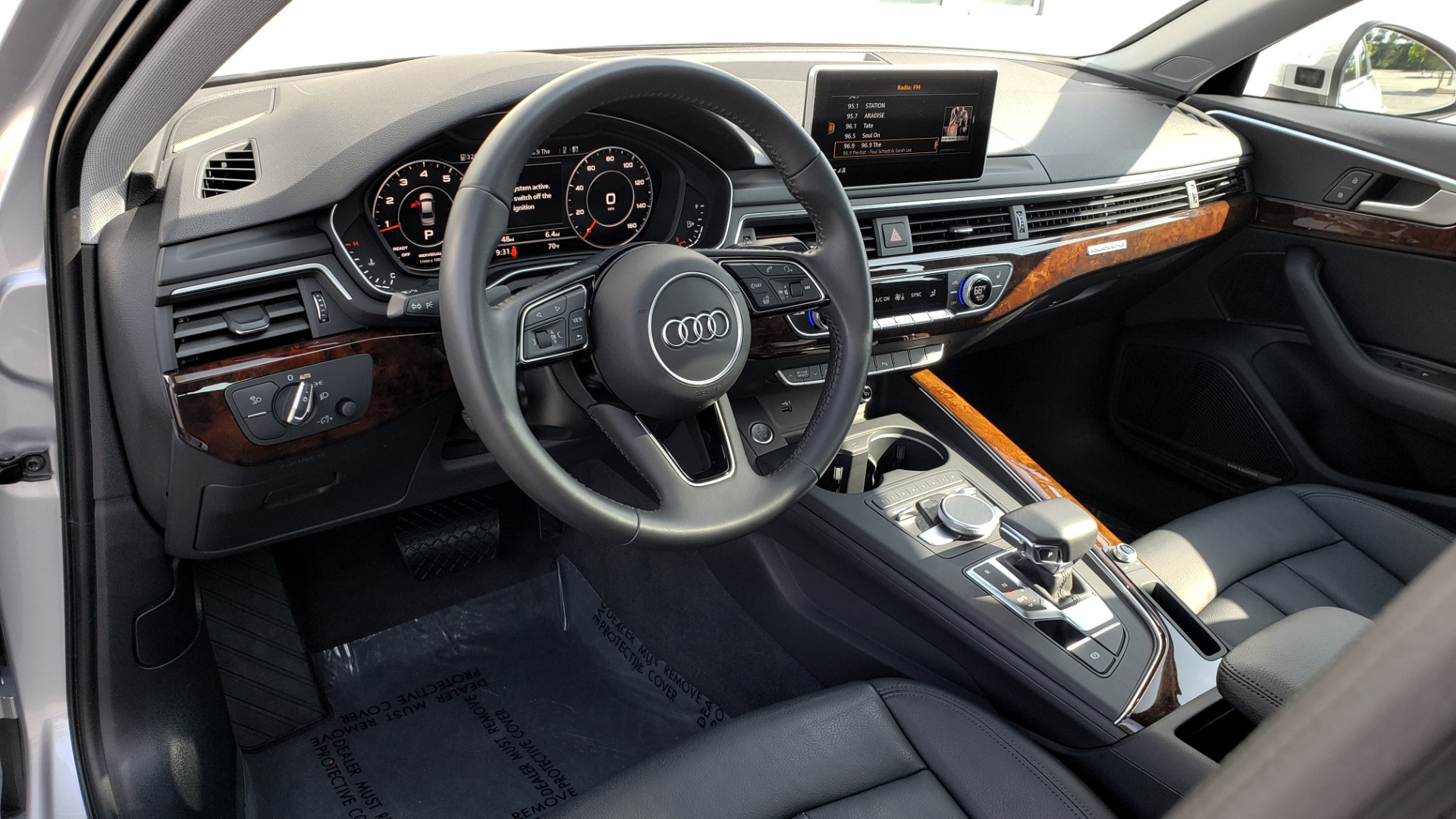 Used 2018 Audi A4 PREMIUM PLUS 2.0T / NAV / SUNROOF / B&O SND / CLD WTHR / REARVIEW for sale $29,395 at Formula Imports in Charlotte NC 28227 37