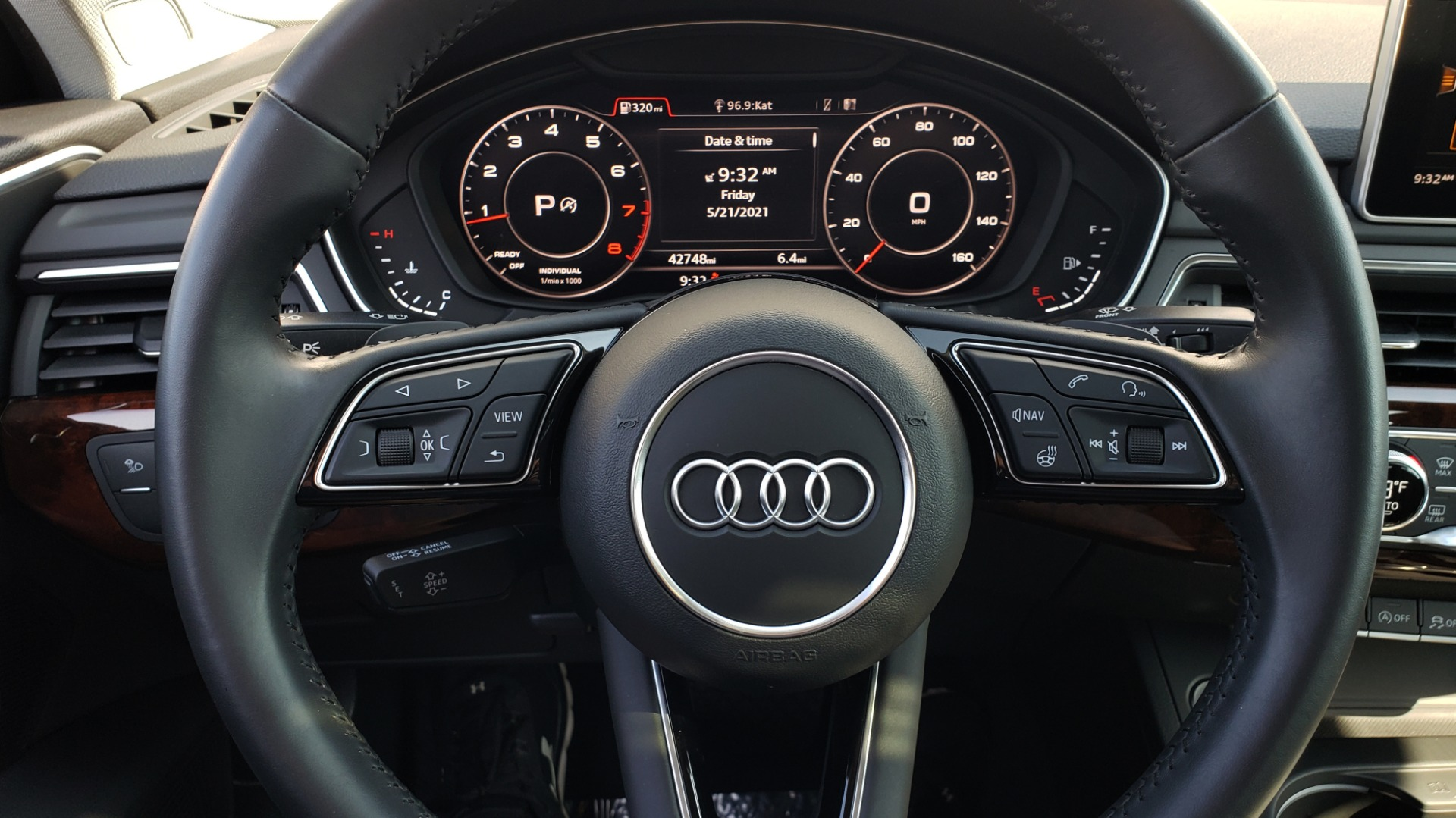 Used 2018 Audi A4 PREMIUM PLUS 2.0T / NAV / SUNROOF / B&O SND / CLD WTHR / REARVIEW for sale $29,395 at Formula Imports in Charlotte NC 28227 41