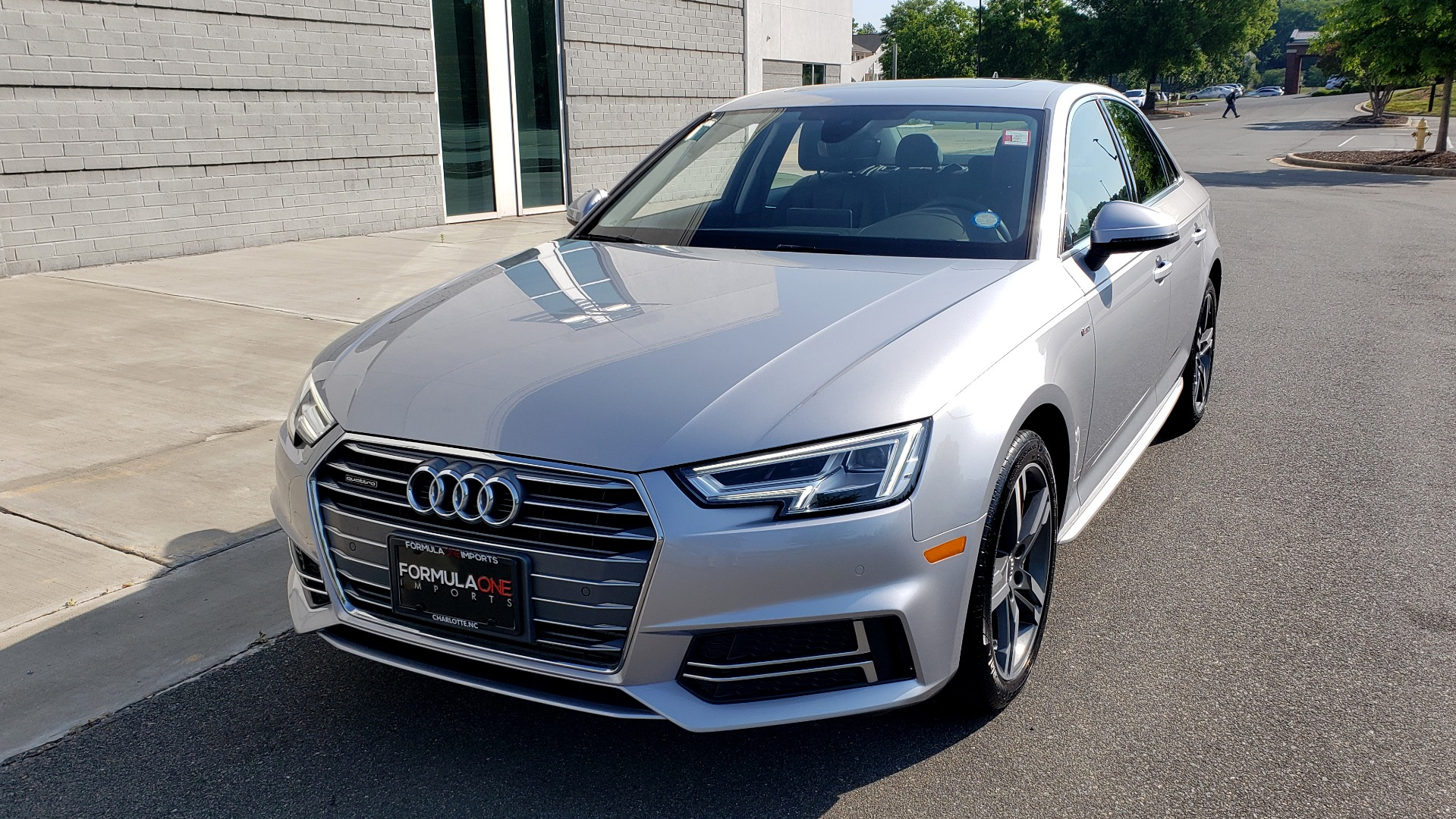 Used 2018 Audi A4 PREMIUM PLUS 2.0T / NAV / SUNROOF / B&O SND / CLD WTHR / REARVIEW for sale $29,395 at Formula Imports in Charlotte NC 28227 1