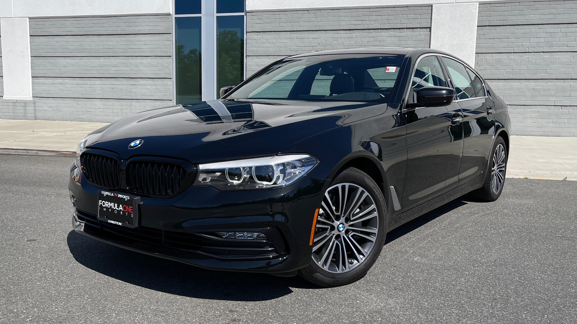 Used 2018 BMW 5 SERIES 540I XDRIVE PREMIUM / NAV / PARK ASST / WIRELESS CHARGING H/K SND for sale $38,395 at Formula Imports in Charlotte NC 28227 1