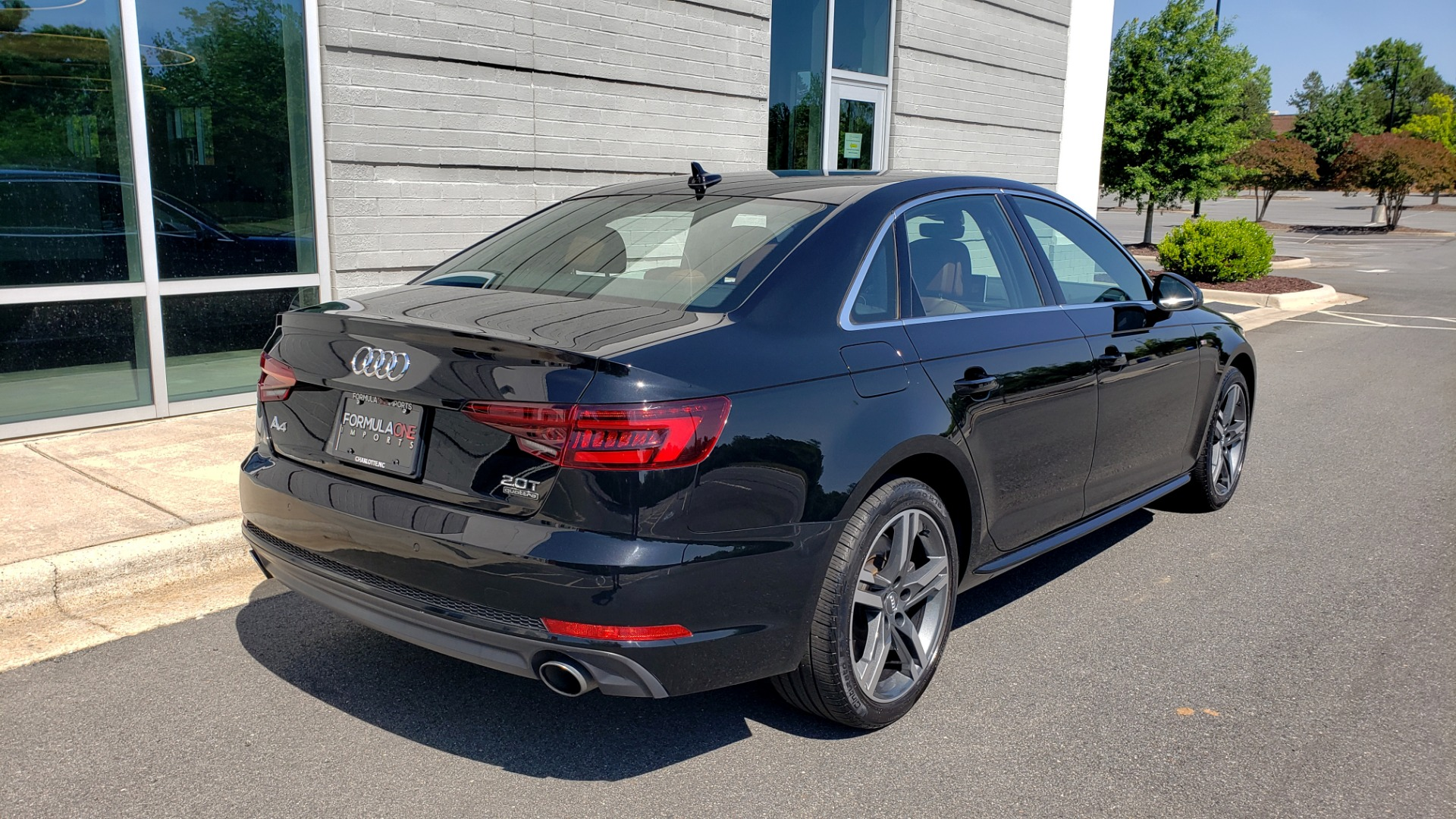 Used 2018 Audi A4 PREMIUM PLUS 2.0T / NAV / SUNROOF / B&O SND / CLD WTHR / REARVIEW for sale $30,695 at Formula Imports in Charlotte NC 28227 2