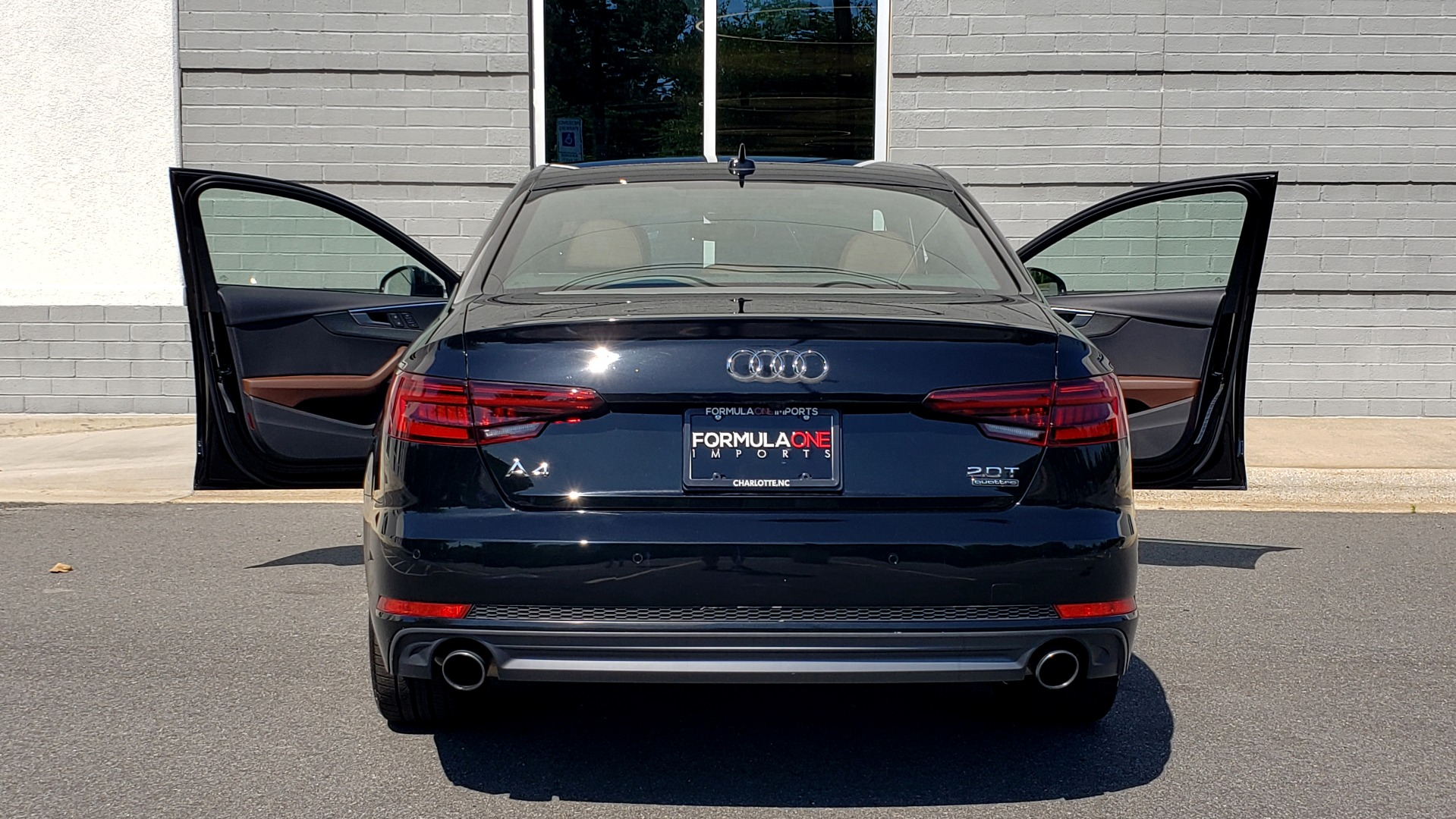 Used 2018 Audi A4 PREMIUM PLUS 2.0T / NAV / SUNROOF / B&O SND / CLD WTHR / REARVIEW for sale $30,695 at Formula Imports in Charlotte NC 28227 26