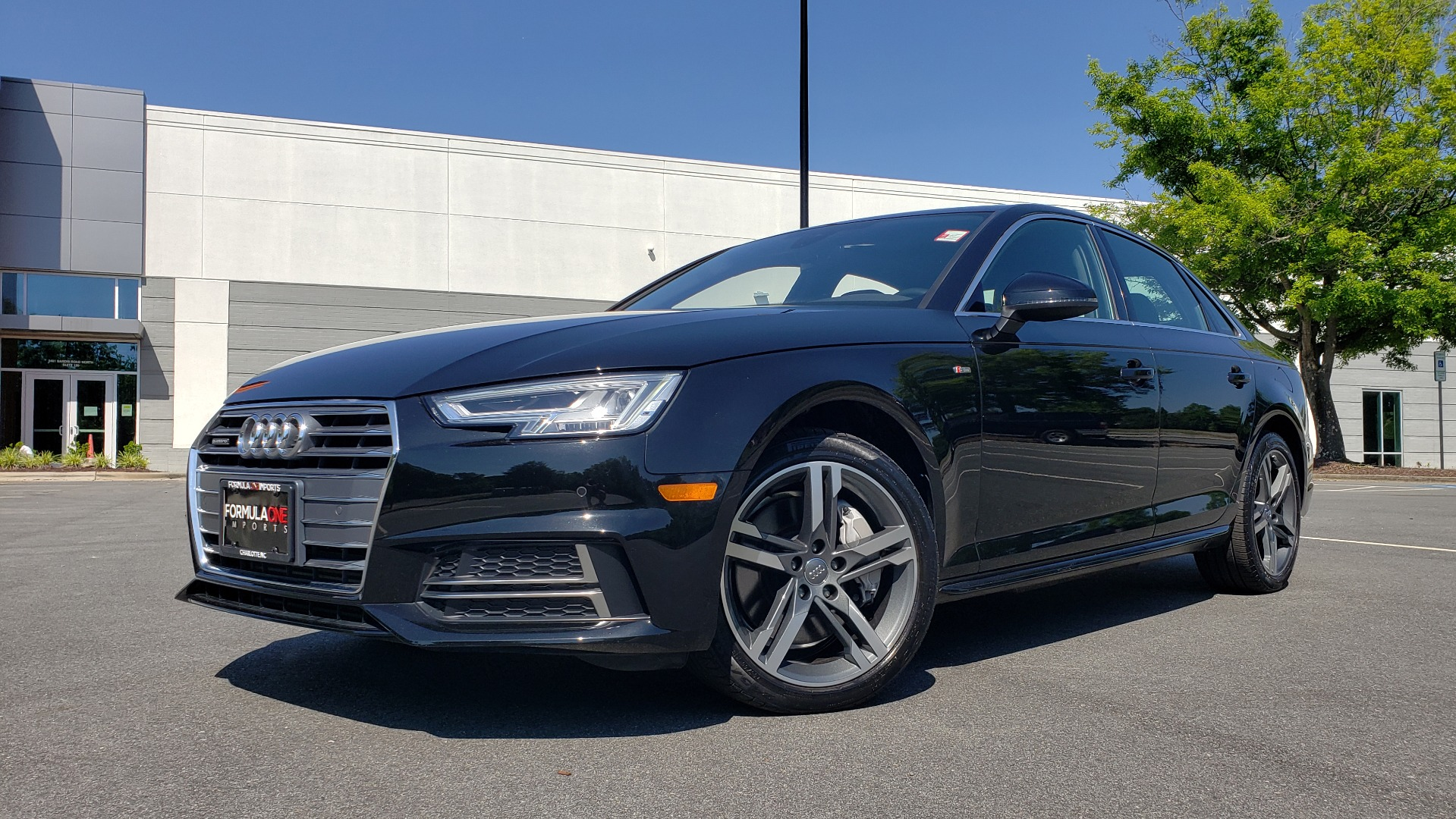 Used 2018 Audi A4 PREMIUM PLUS 2.0T / NAV / SUNROOF / B&O SND / CLD WTHR / REARVIEW for sale $30,695 at Formula Imports in Charlotte NC 28227 89
