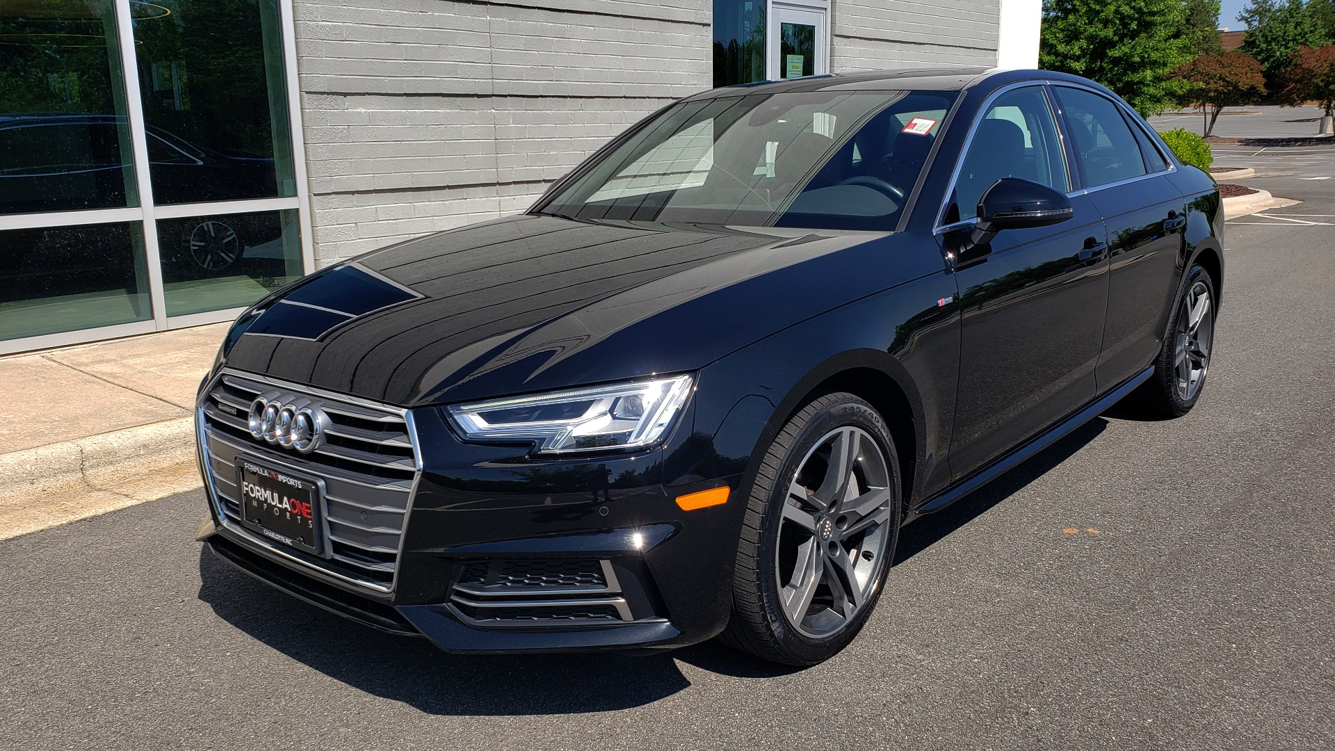 Used 2018 Audi A4 PREMIUM PLUS 2.0T / NAV / SUNROOF / B&O SND / CLD WTHR / REARVIEW for sale $30,695 at Formula Imports in Charlotte NC 28227 1