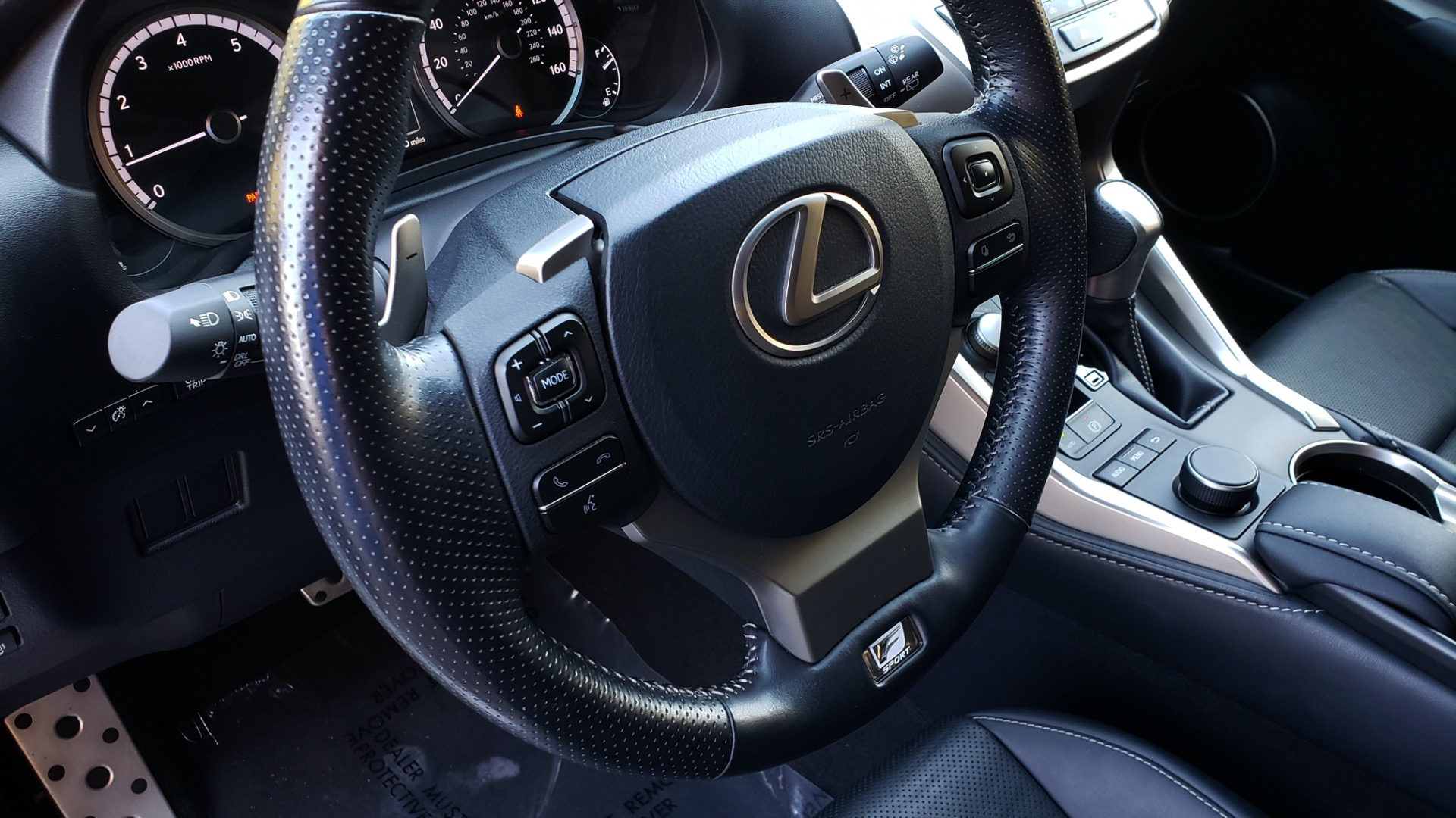 Used 2016 Lexus NX 200t F-SPORT / BACK-UP CAMERA / 18 INCH WHEELS for sale Sold at Formula Imports in Charlotte NC 28227 39