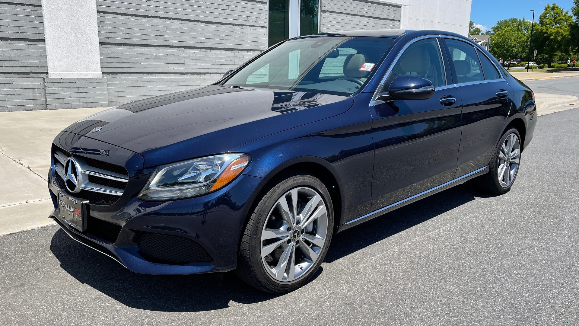 Used 2018 Mercedes-Benz C-CLASS C 300 PREMIUM / KEYLESS-GO / PANO-ROOF / BURMESTER / REARVIEW for sale $29,495 at Formula Imports in Charlotte NC 28227 3