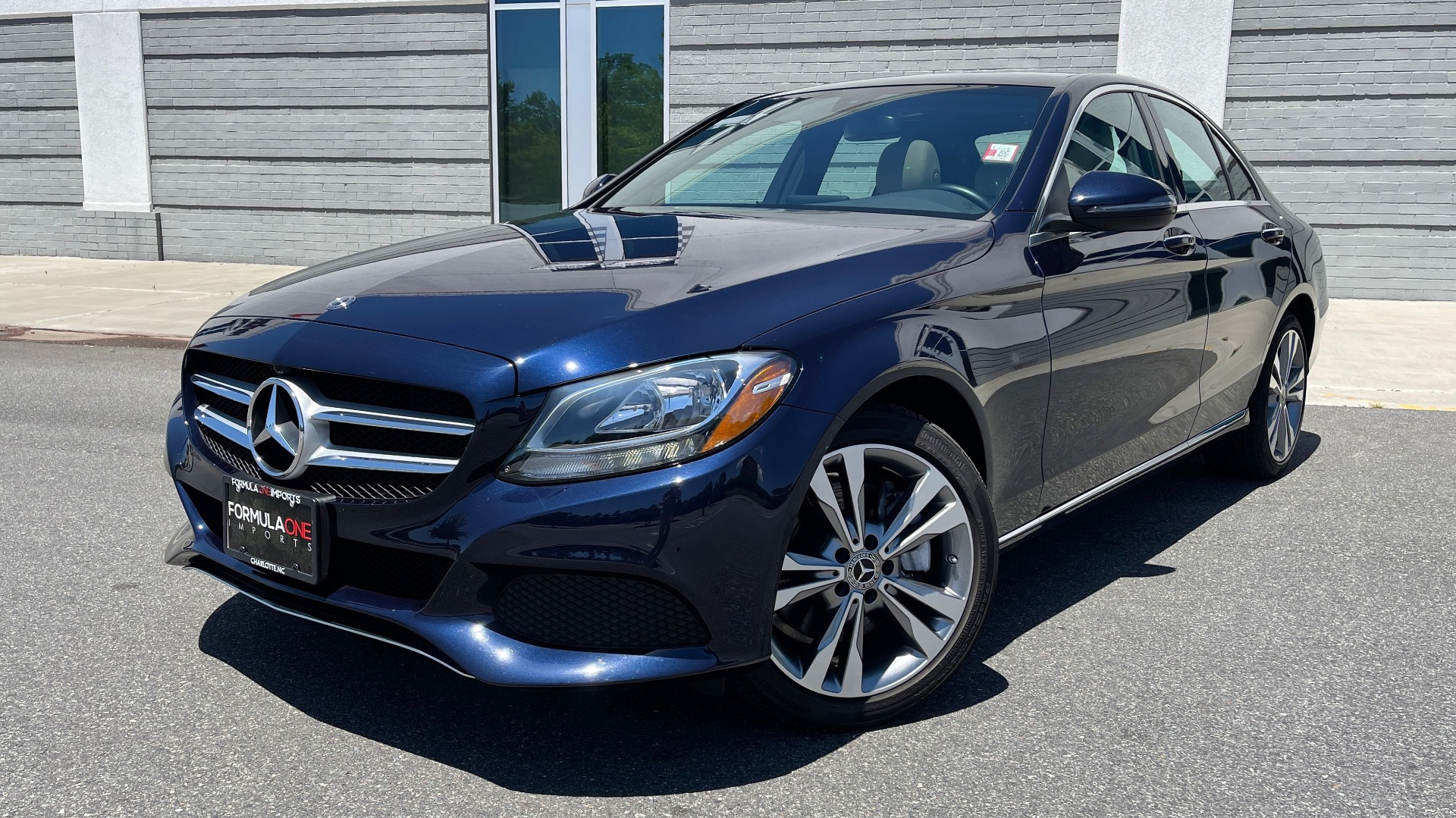 Used 2018 Mercedes-Benz C-CLASS C 300 PREMIUM / KEYLESS-GO / PANO-ROOF / BURMESTER / REARVIEW for sale $29,495 at Formula Imports in Charlotte NC 28227 1