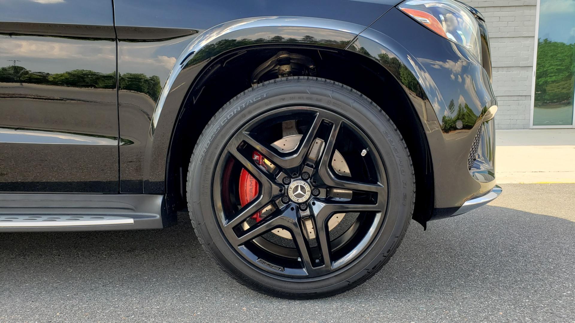 Used 2017 Mercedes-Benz GLS GLS 550 for sale Sold at Formula Imports in Charlotte NC 28227 91