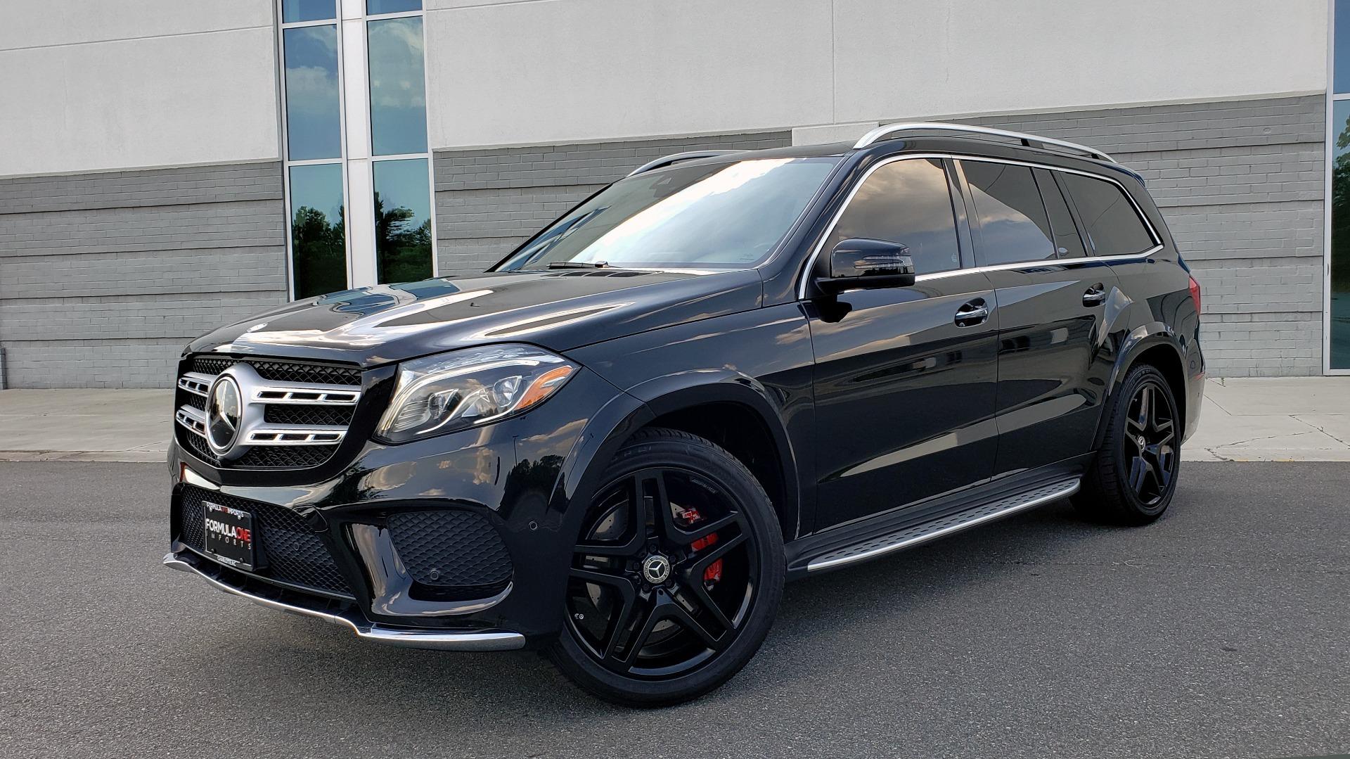 Used 2017 Mercedes-Benz GLS GLS 550 for sale Sold at Formula Imports in Charlotte NC 28227 1
