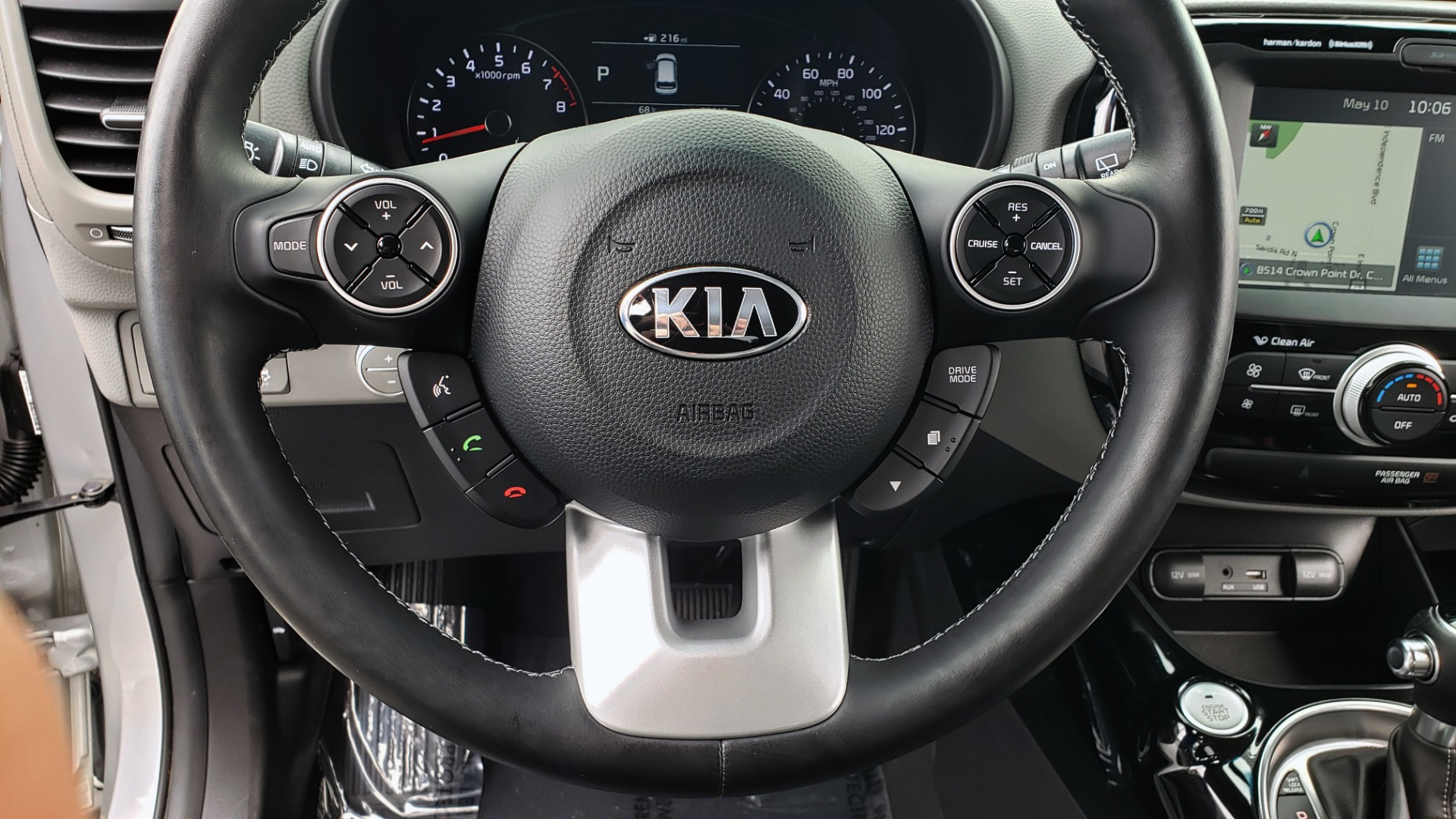 Used 2017 Kia SOUL PLUS / NAV / SUNROOF / LEATHER / HTD STS / REARVIEW for sale $16,995 at Formula Imports in Charlotte NC 28227 39